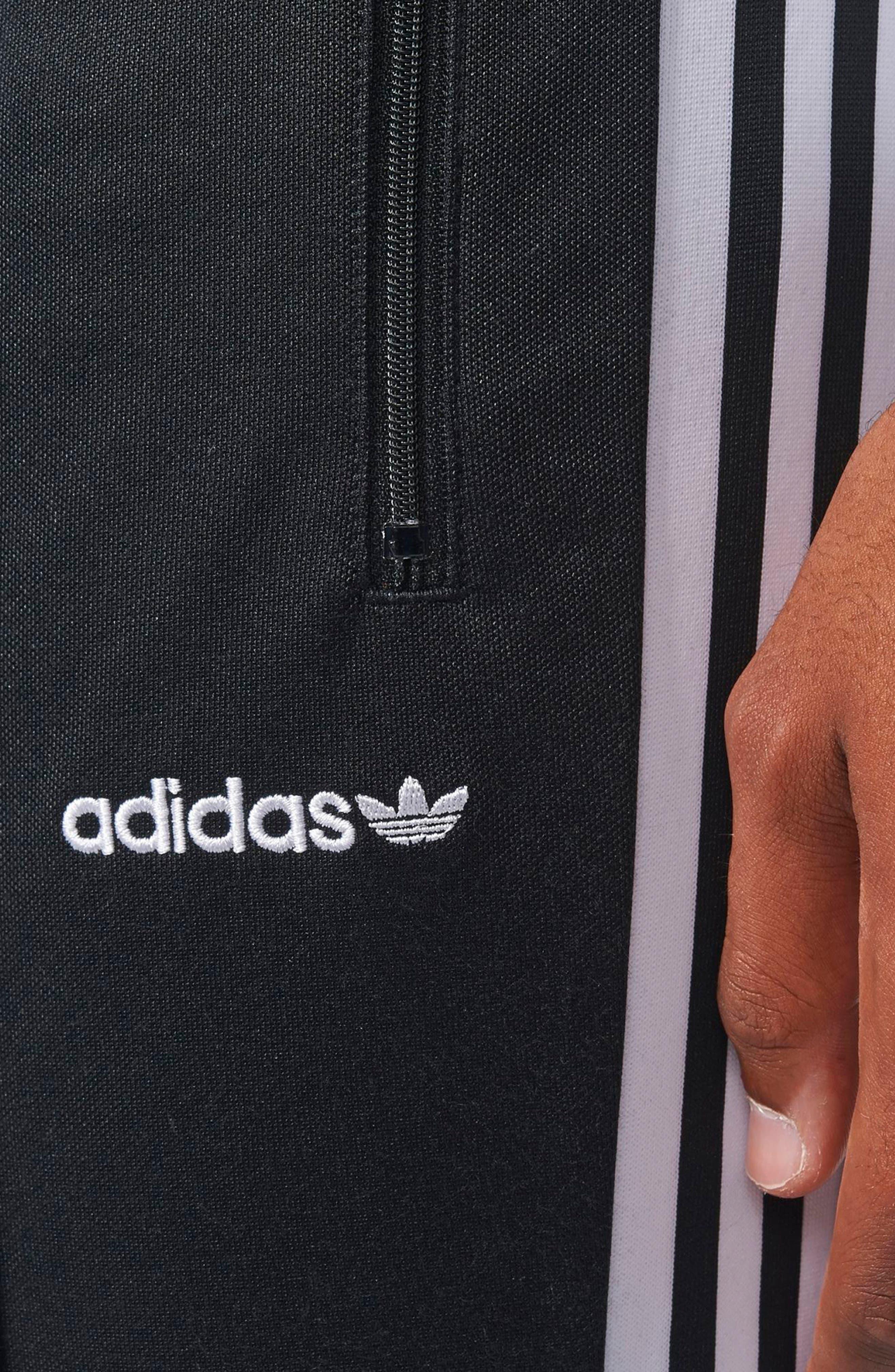Alternate Image 4  - adidas Originals Beckenbauer Open Hem Track Pants