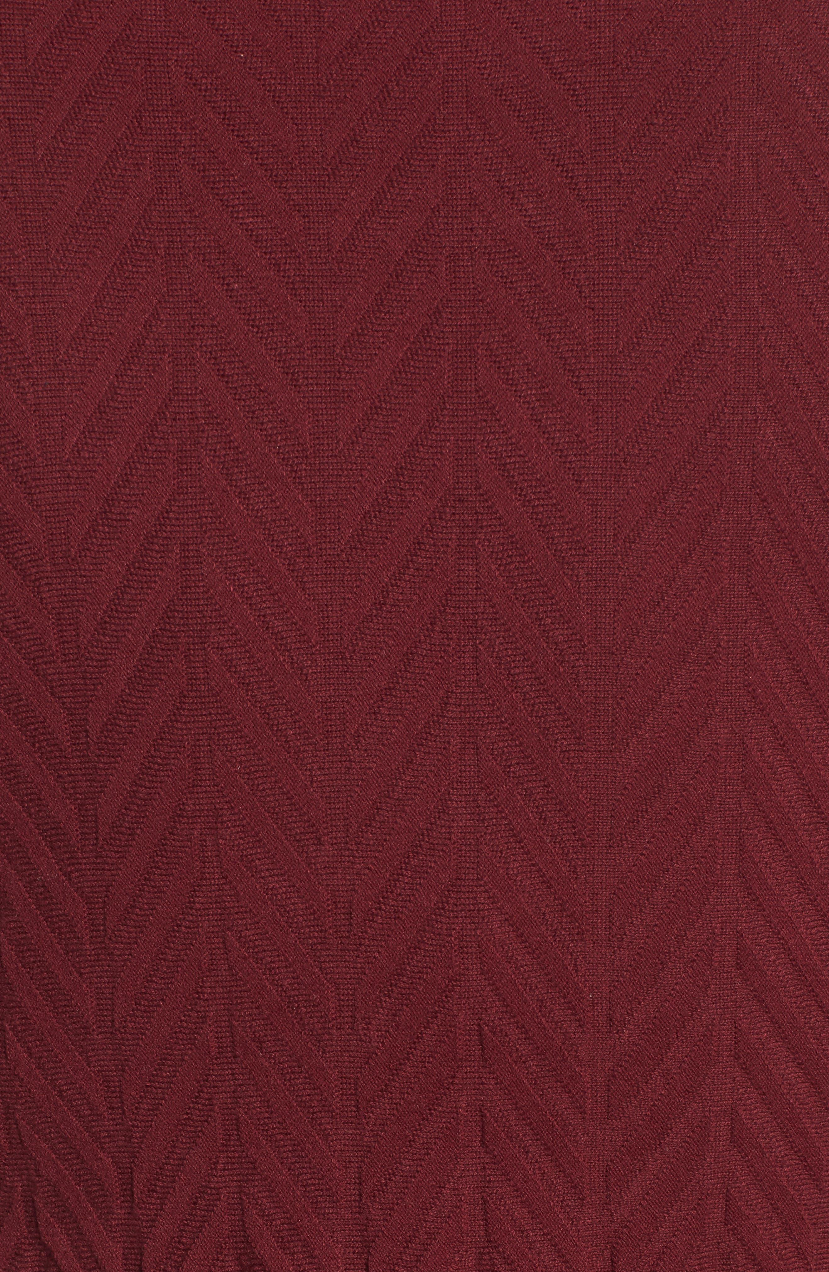 Alternate Image 5  - CeCe Chevron Stitch Sweater