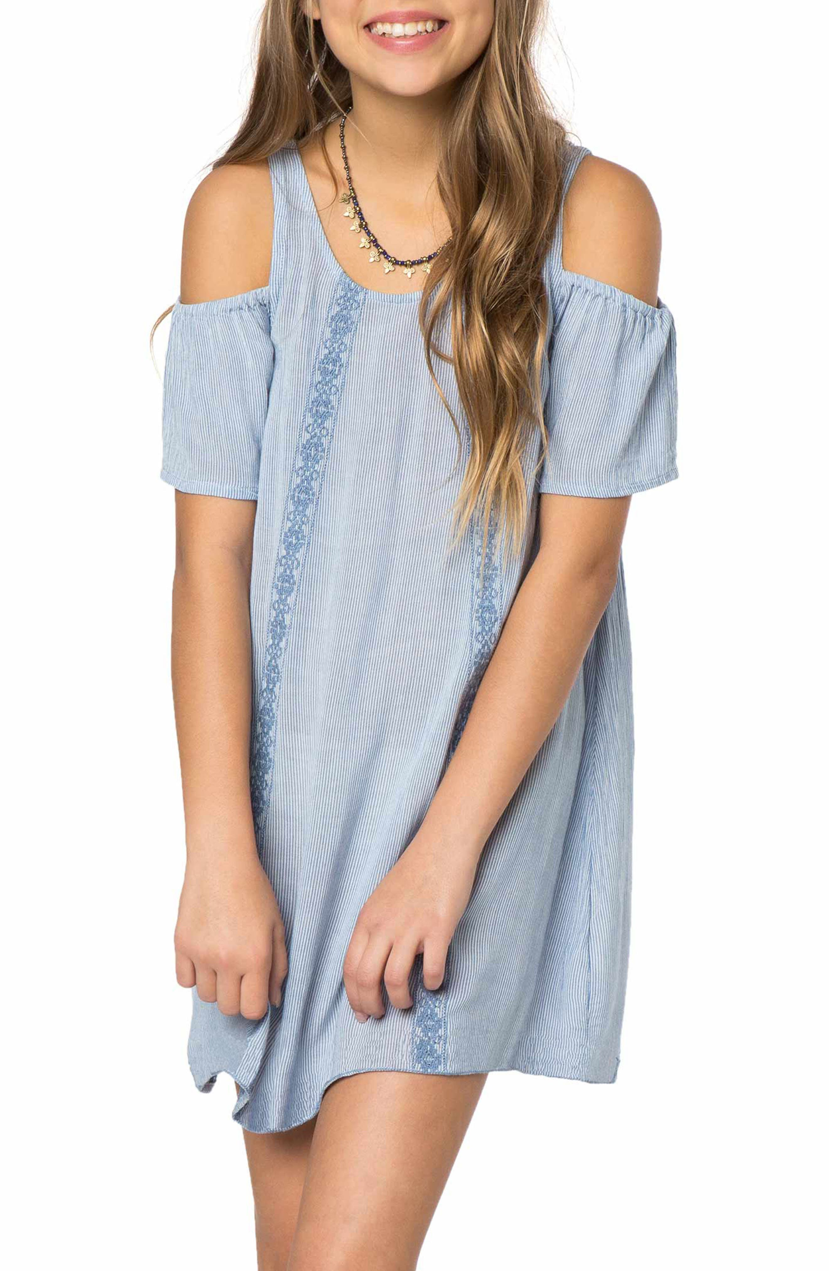 O'Neill Arie Cold Shoulder Dress (Big Girls)
