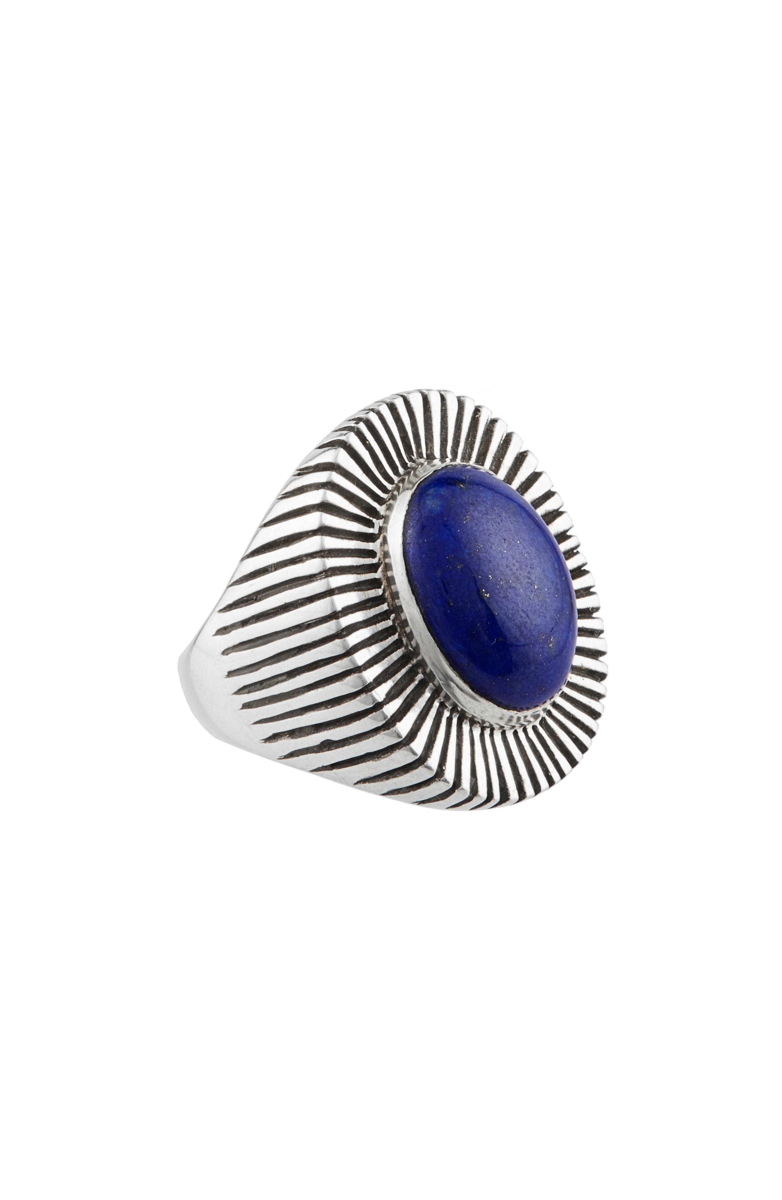 Byron Ring,                         Main,                         color, Blue