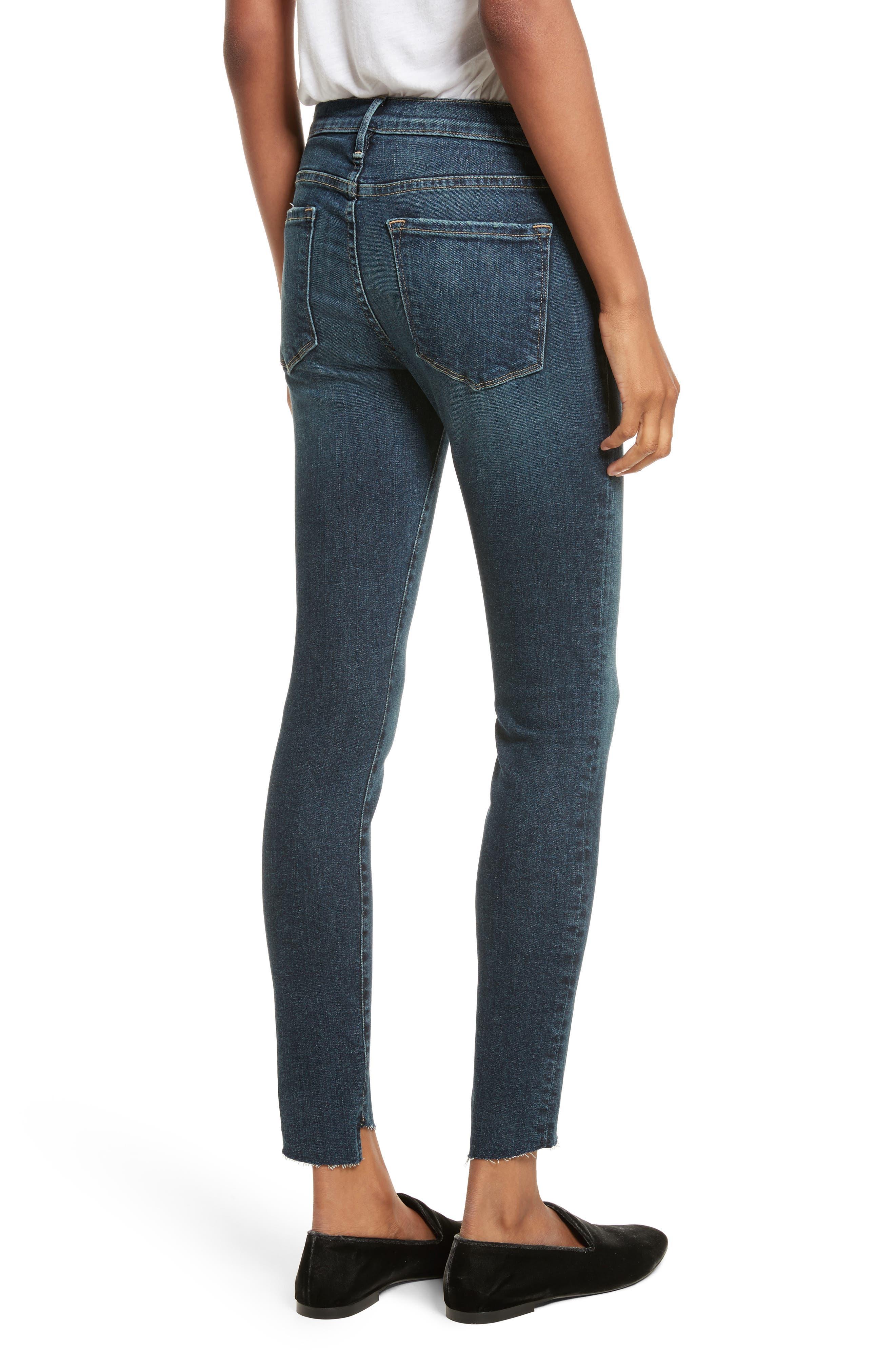 Alternate Image 2  - FRAME Le Skinny de Jeanne Skinny Jeans (Astell)