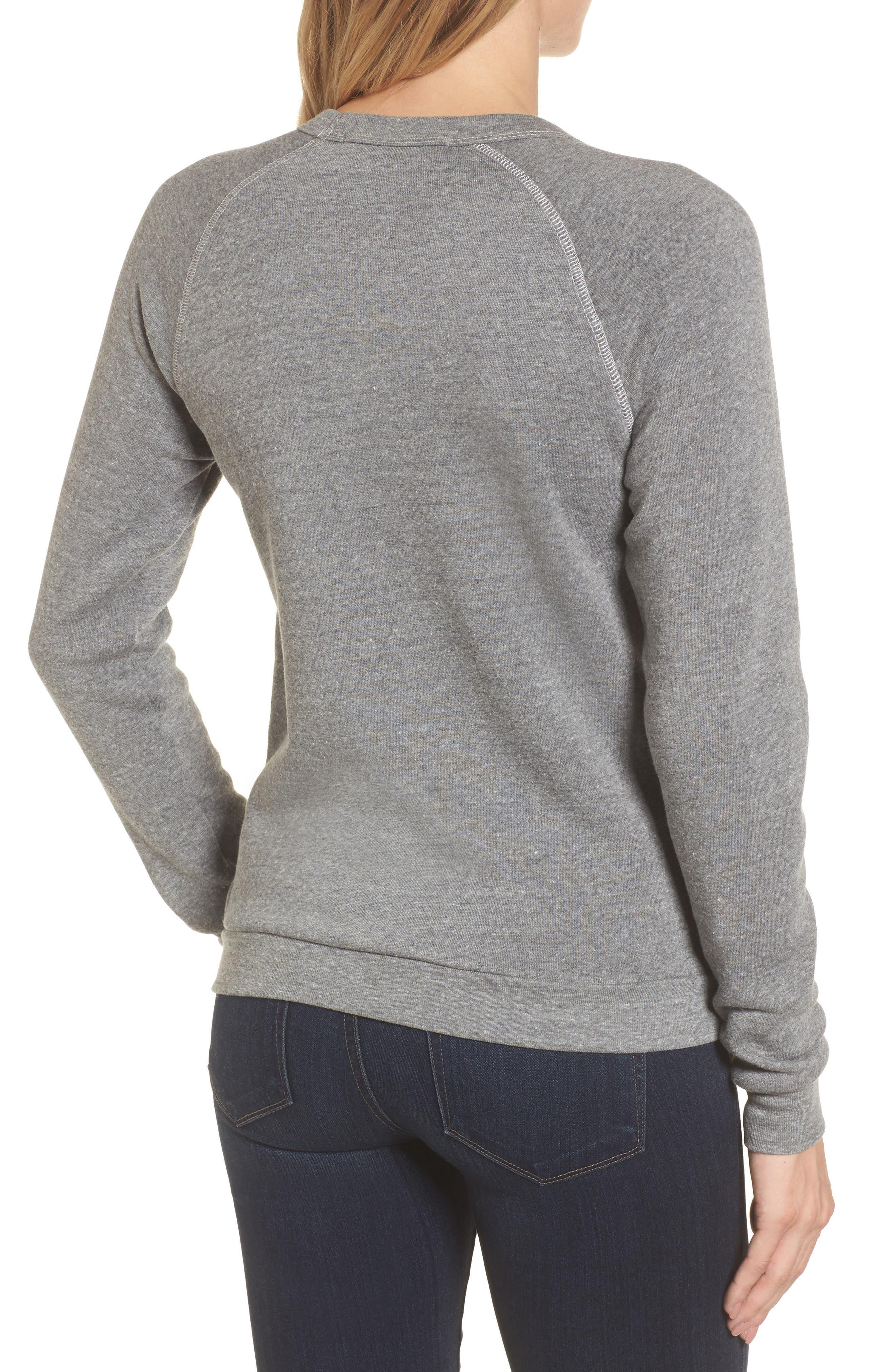 Alternate Image 2  - Bow & Drape Sweet Dreams are Made of Cheese Sweatshirt