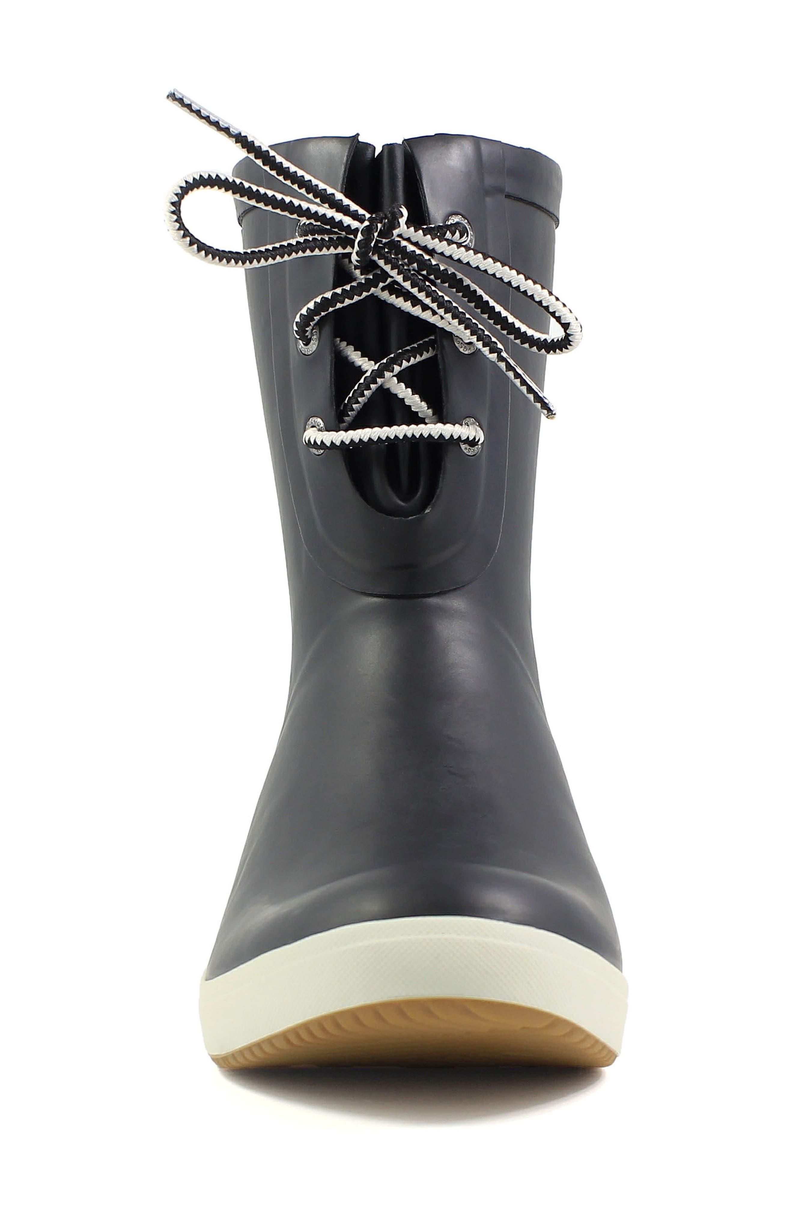 Alternate Image 5  - Bogs Quinn Lace-Up Rain Boot (Women)