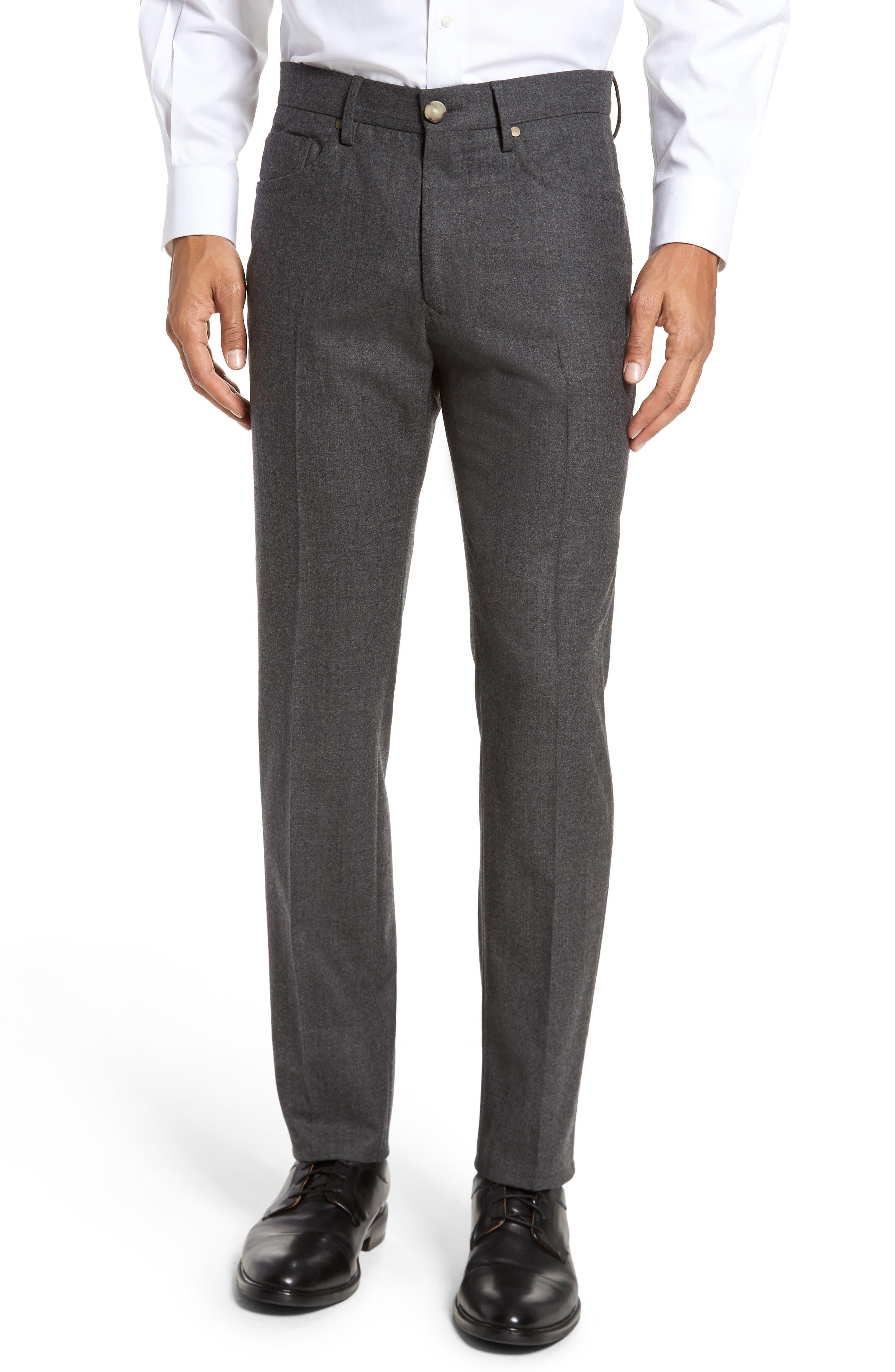 Incotex Five-Pocket Wool & Cashmere Pants