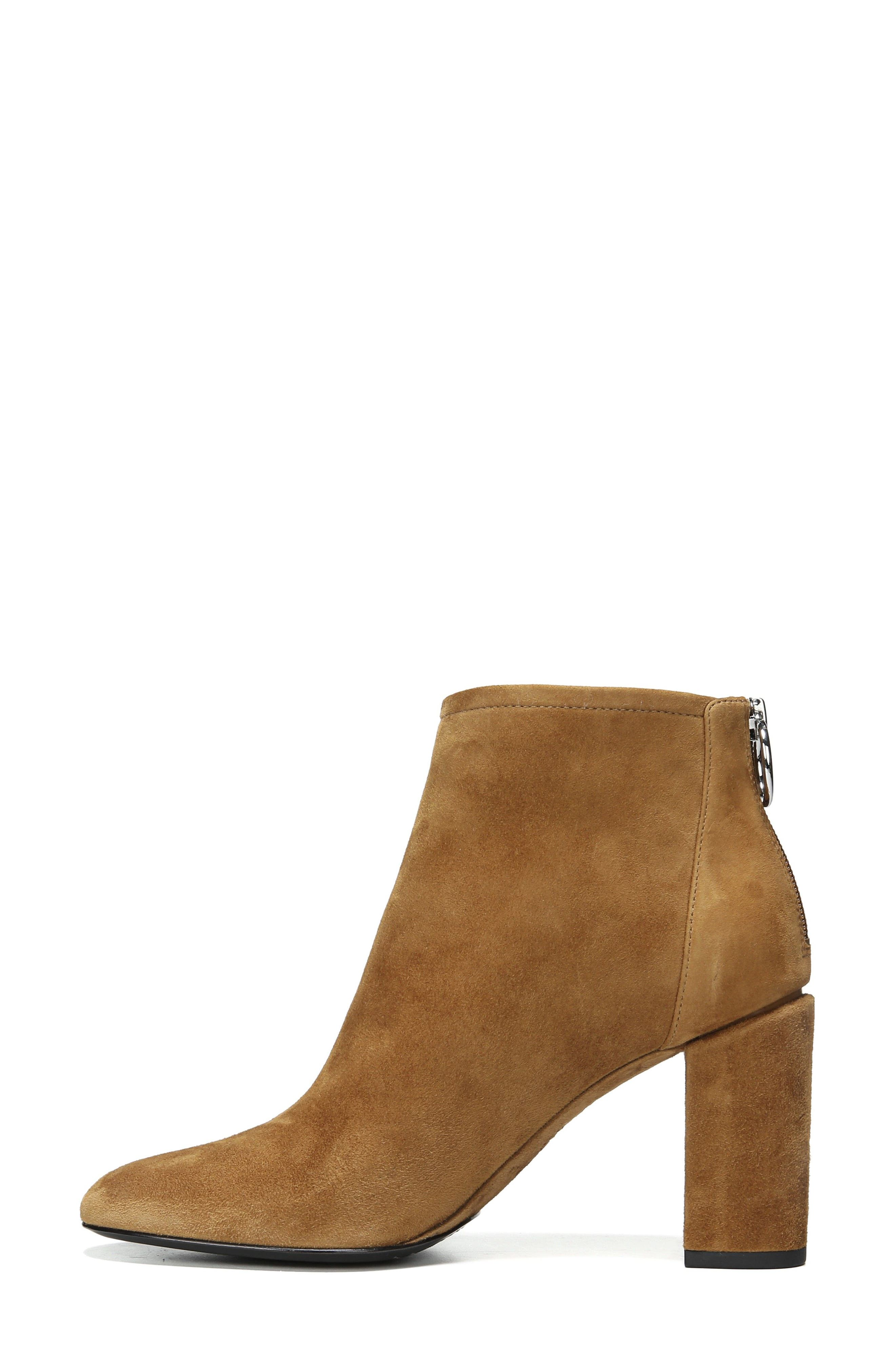 Nadia Bootie,                             Alternate thumbnail 4, color,                             Cuoio Suede