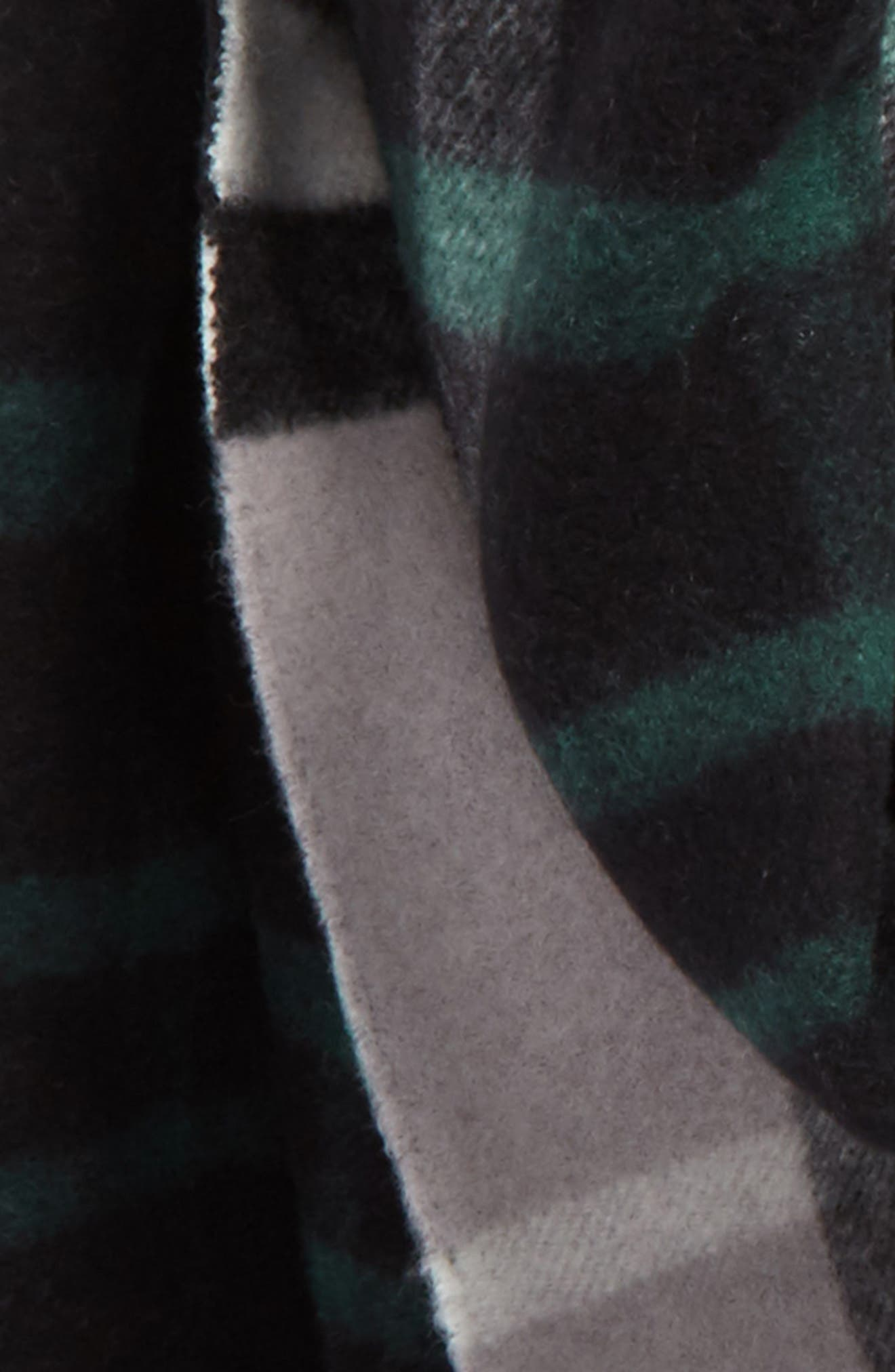 Alternate Image 3  - Burberry Wool & Cashmere Duffle Scarf