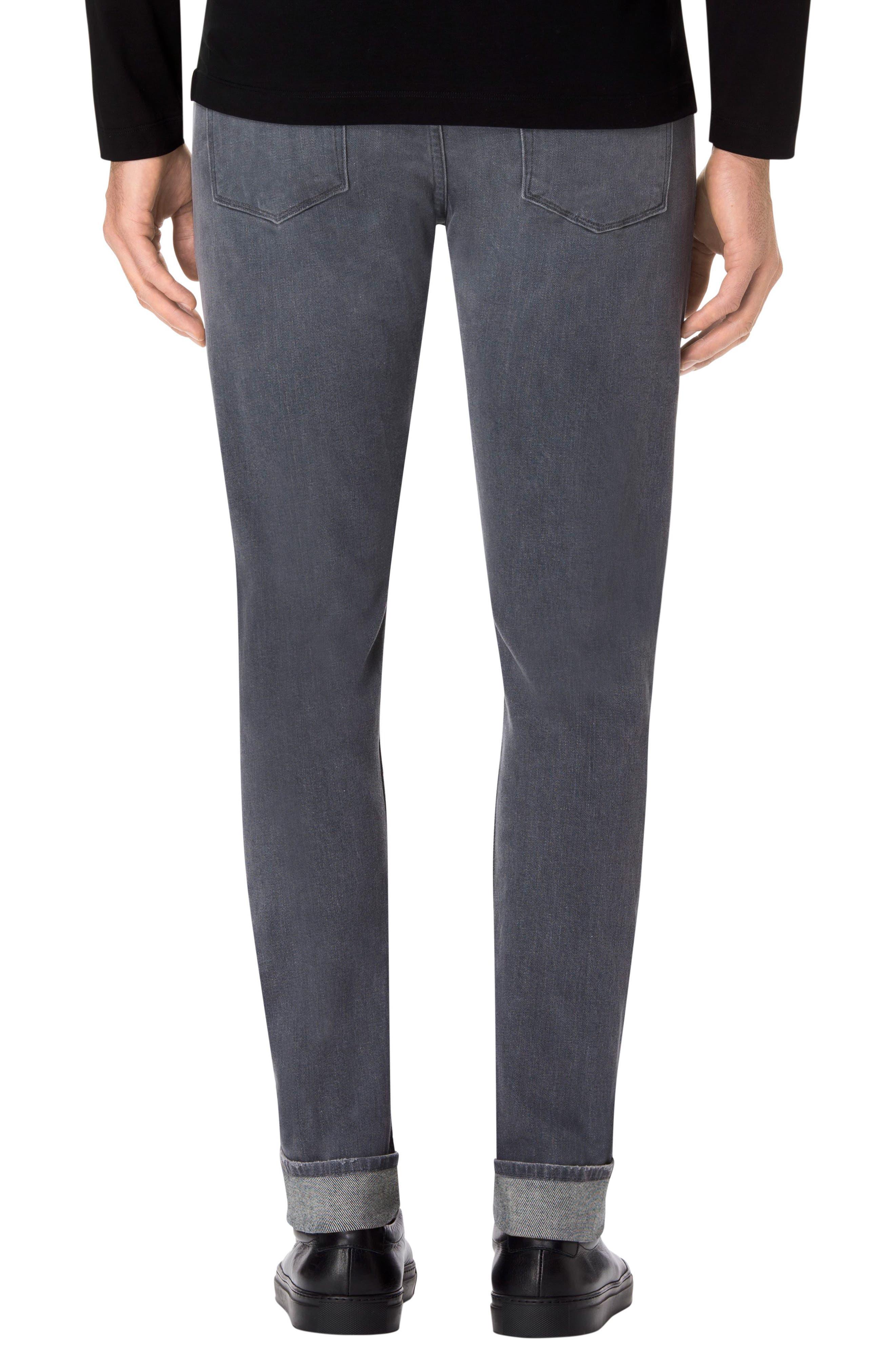 Tyler Slim Fit Jeans,                             Alternate thumbnail 2, color,                             Grey Luna