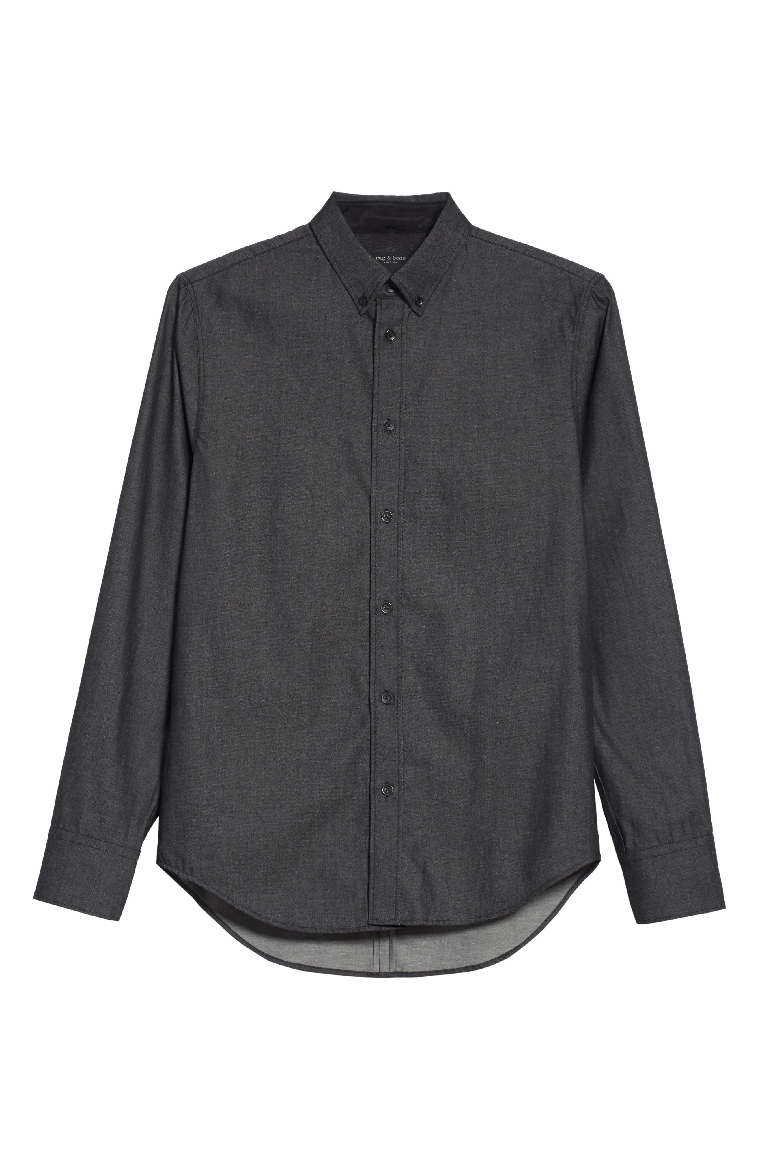 Fit 2 Tomlin Shirt,                             Alternate thumbnail 6, color,                             Black