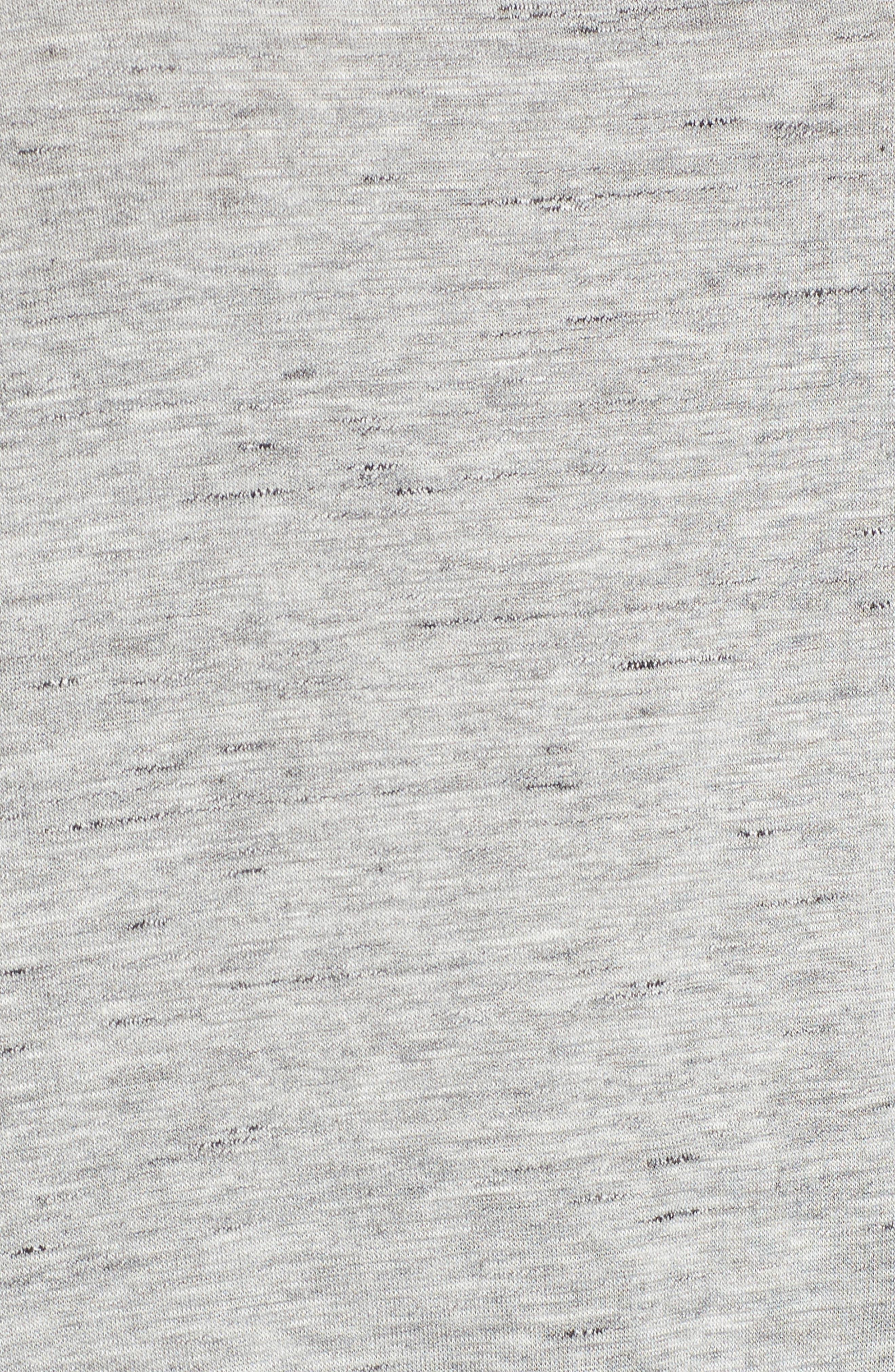 Tie Shoulder Tee,                             Alternate thumbnail 5, color,                             Grey