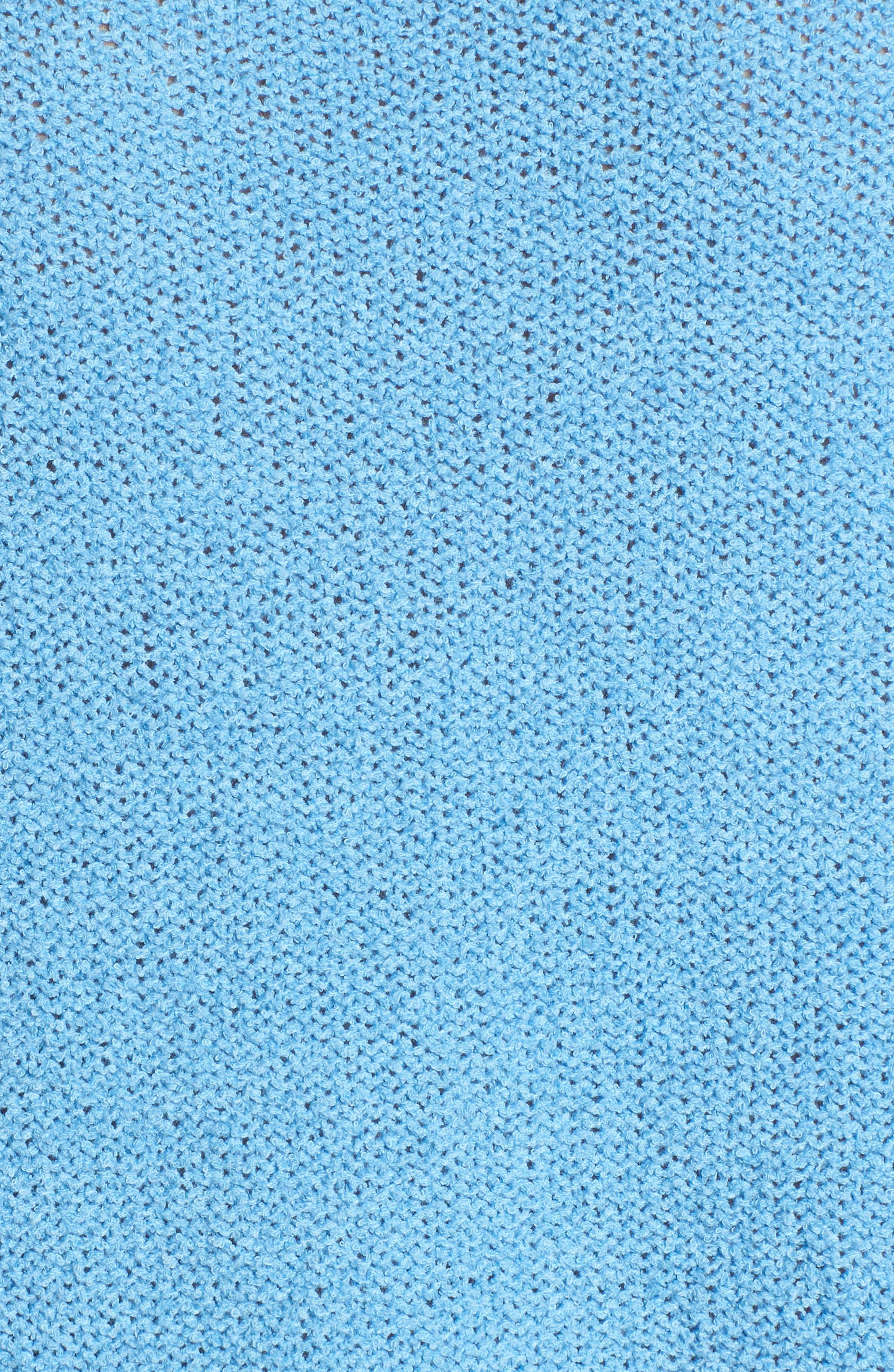 Tunic Sweater,                             Alternate thumbnail 5, color,                             Blue Lichen