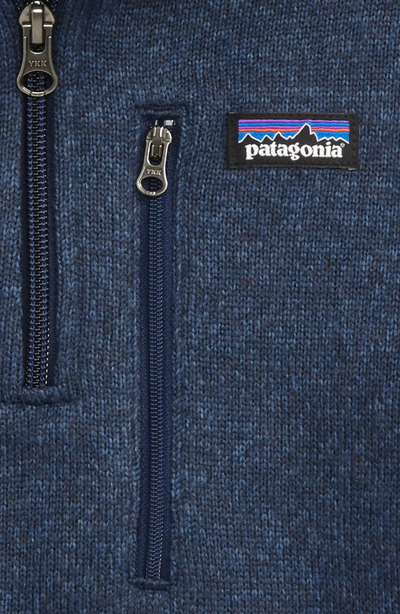 Alternate Image 2  - Patagonia Better Sweater Quarter Zip Pullover (Little Boys & Big Boys)