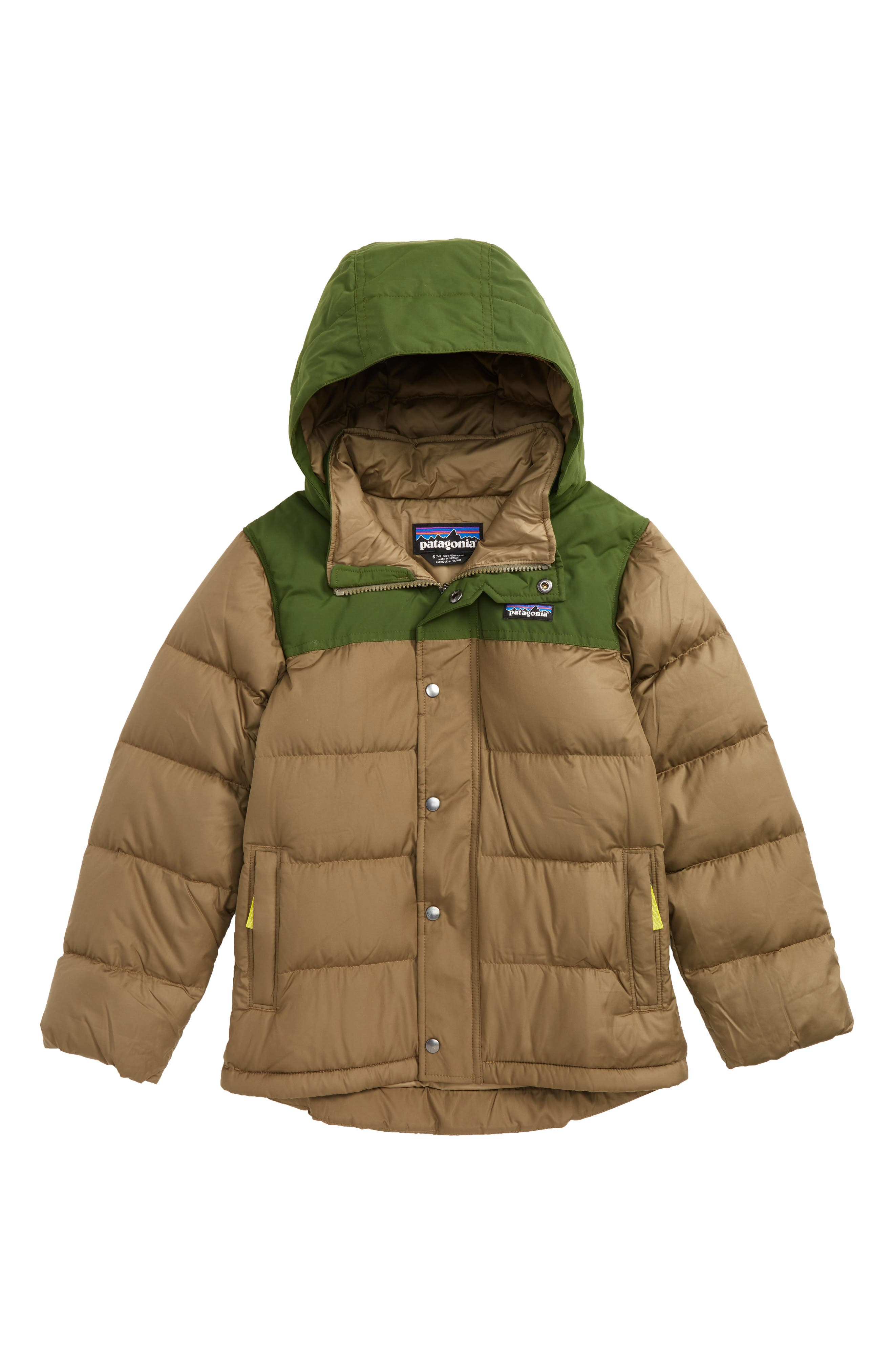 Patagonia Bivy Water Repellent Down Jacket (Little Boys & Big Boys)
