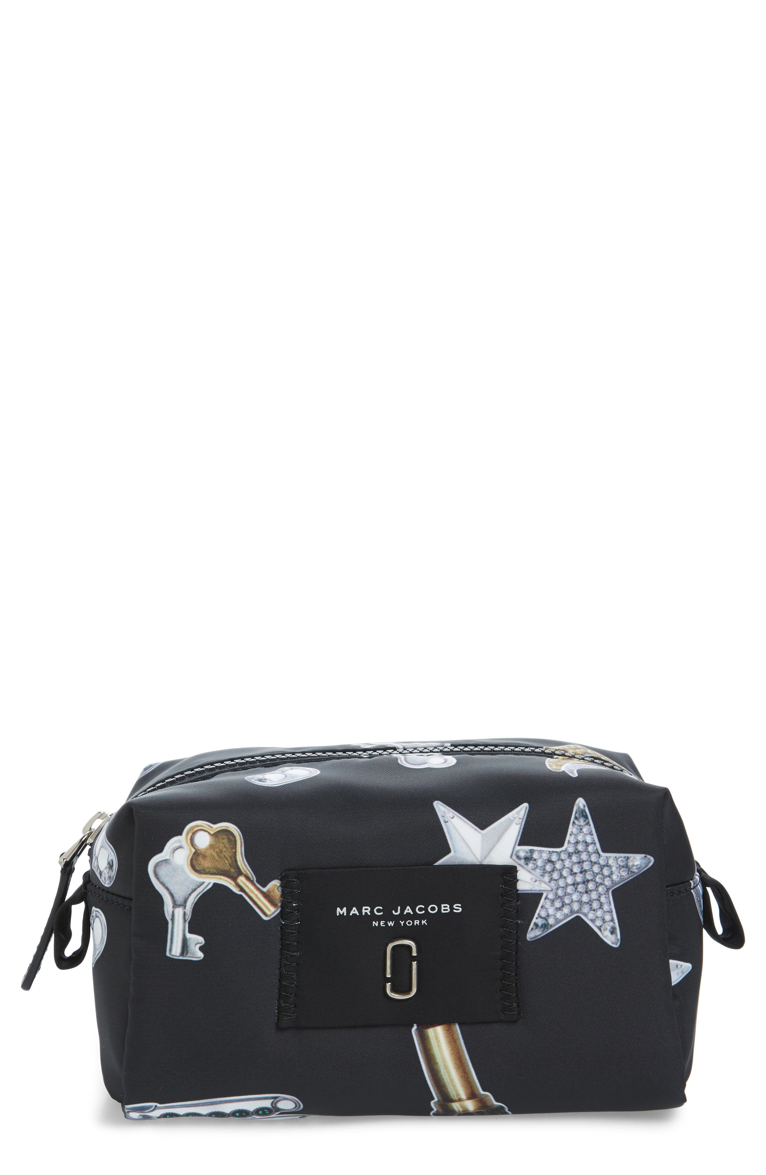 Main Image - MARC JACOBS Tossed Charms Cosmetics Case
