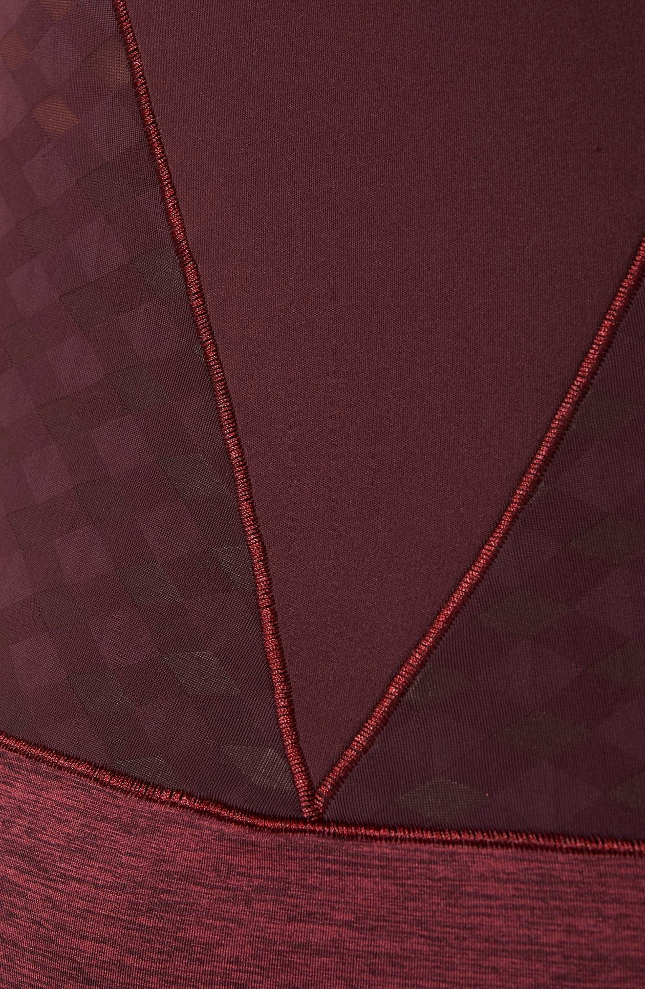 Training Tank,                             Alternate thumbnail 5, color,                             Dark Burgundy/ Legend Red
