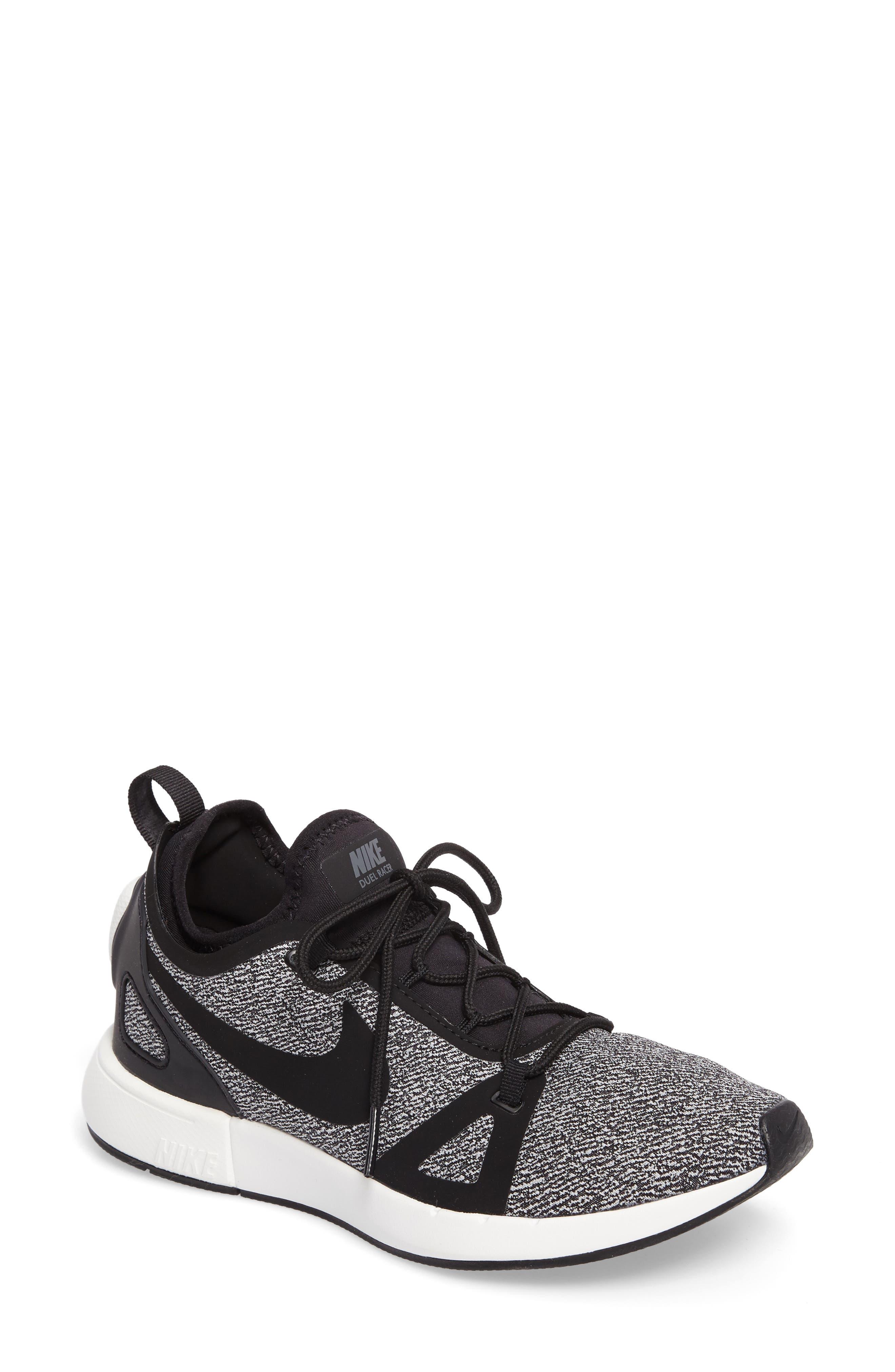 Alternate Image 1 Selected - Nike Duel Racer Knit Sneaker (Women)