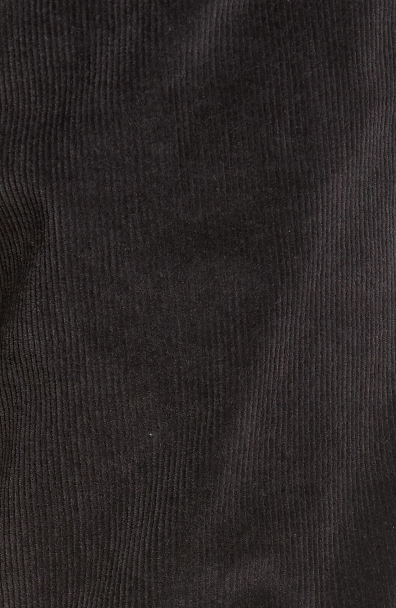 Outsider Corduroy Pants,                             Alternate thumbnail 5, color,                             Charcoal