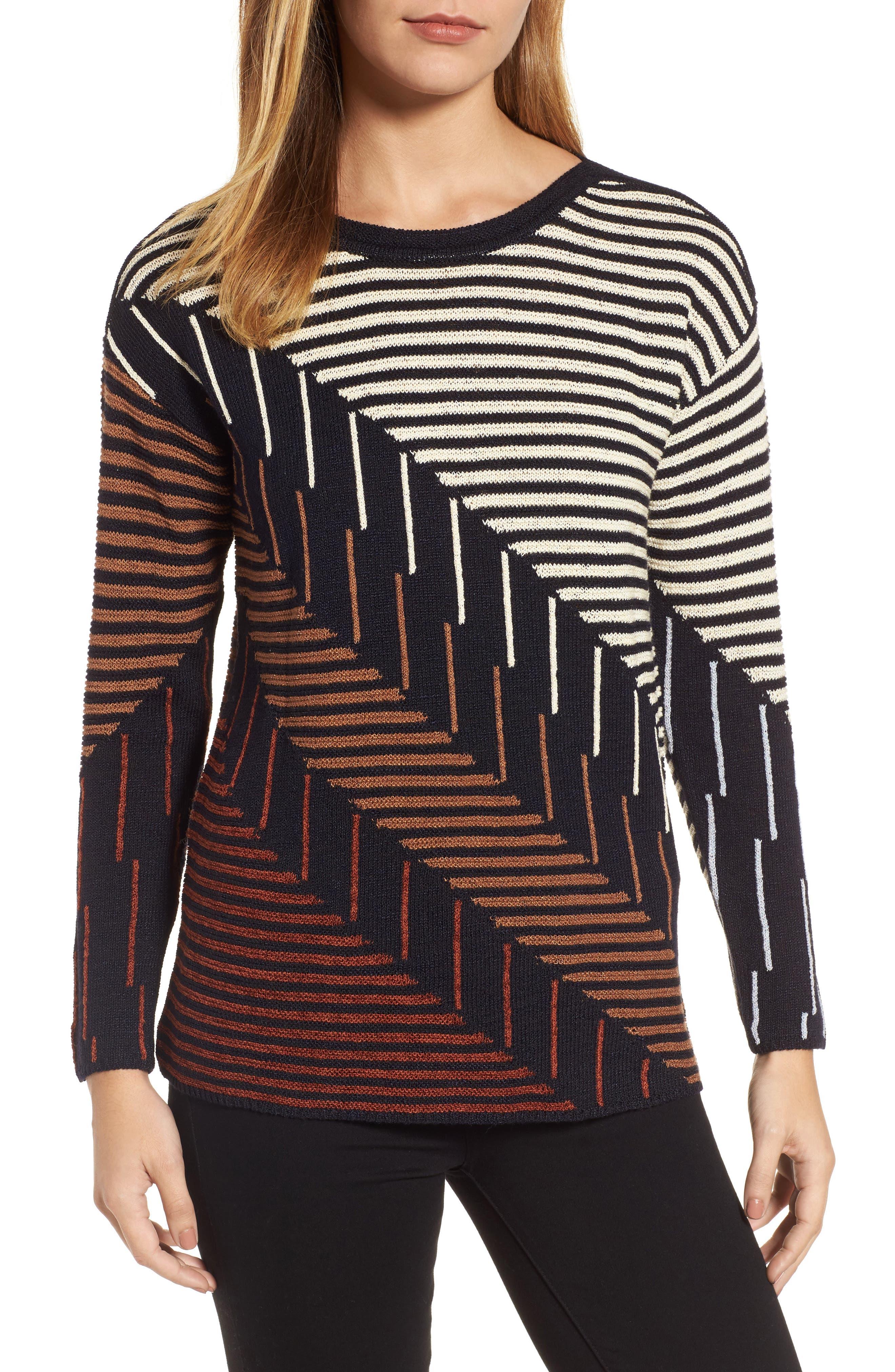 Alternate Image 1 Selected - NIC+ZOE Lagoon Sweater