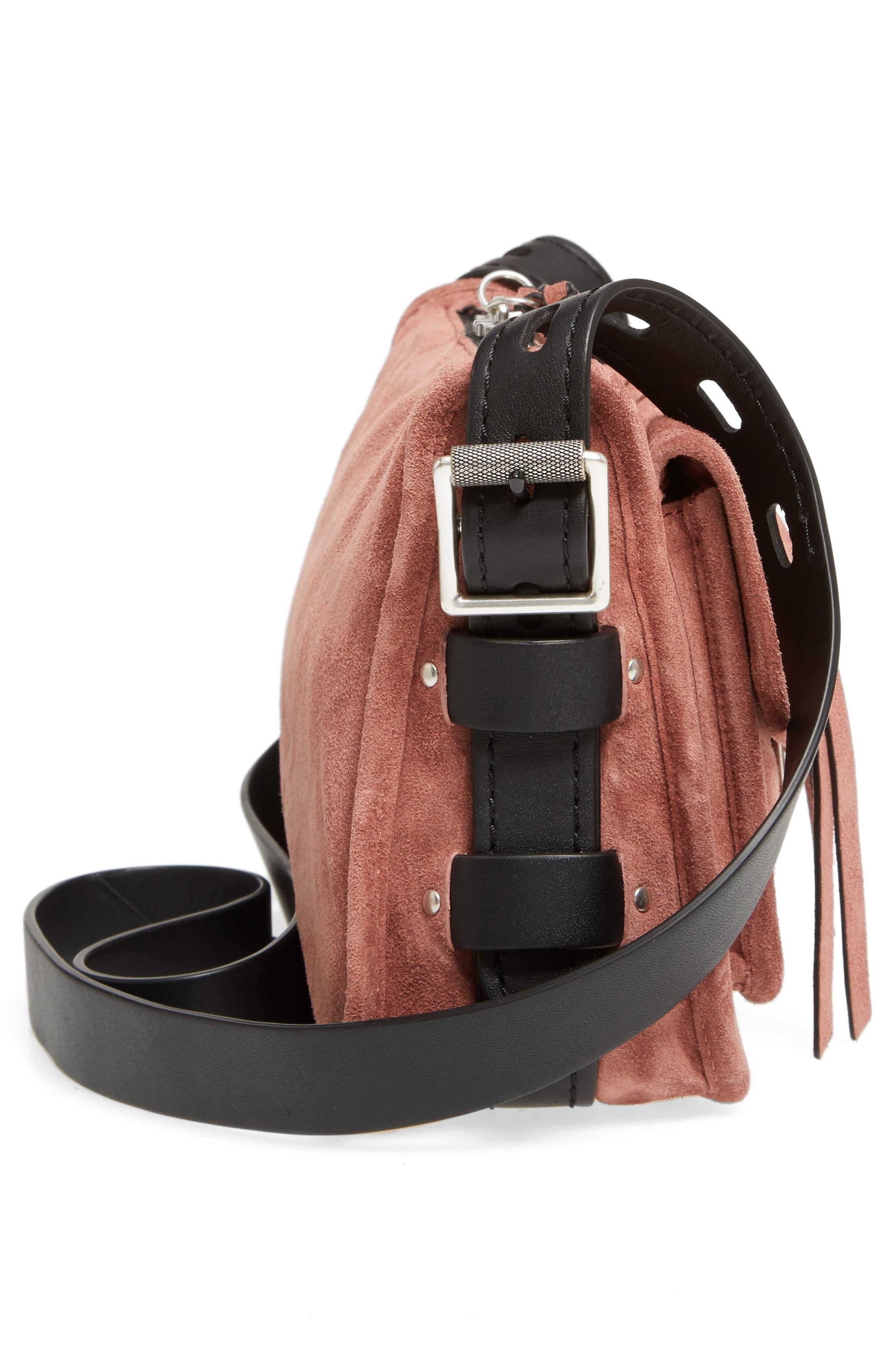 Alternate Image 4  - rag & bone Small Leather Field Messenger Bag