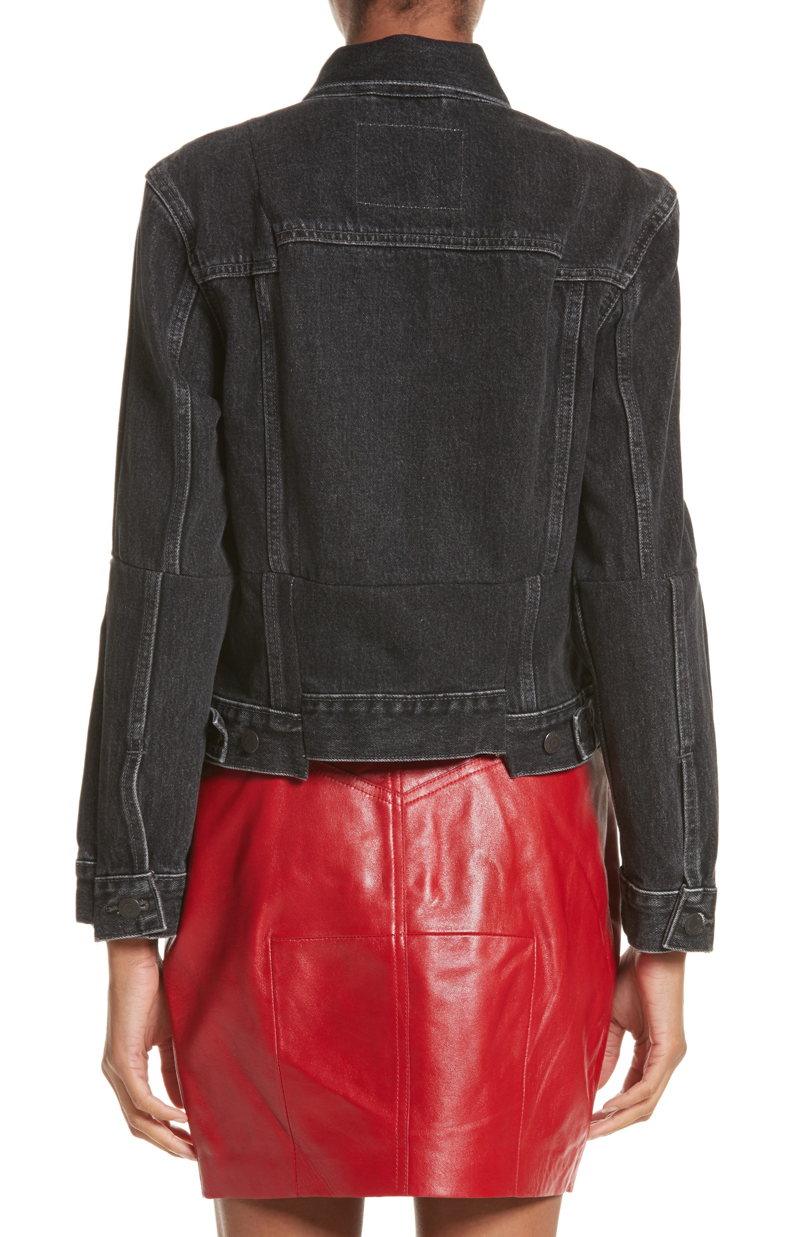 Alternate Image 2  - Vetements Reworked Denim Jacket