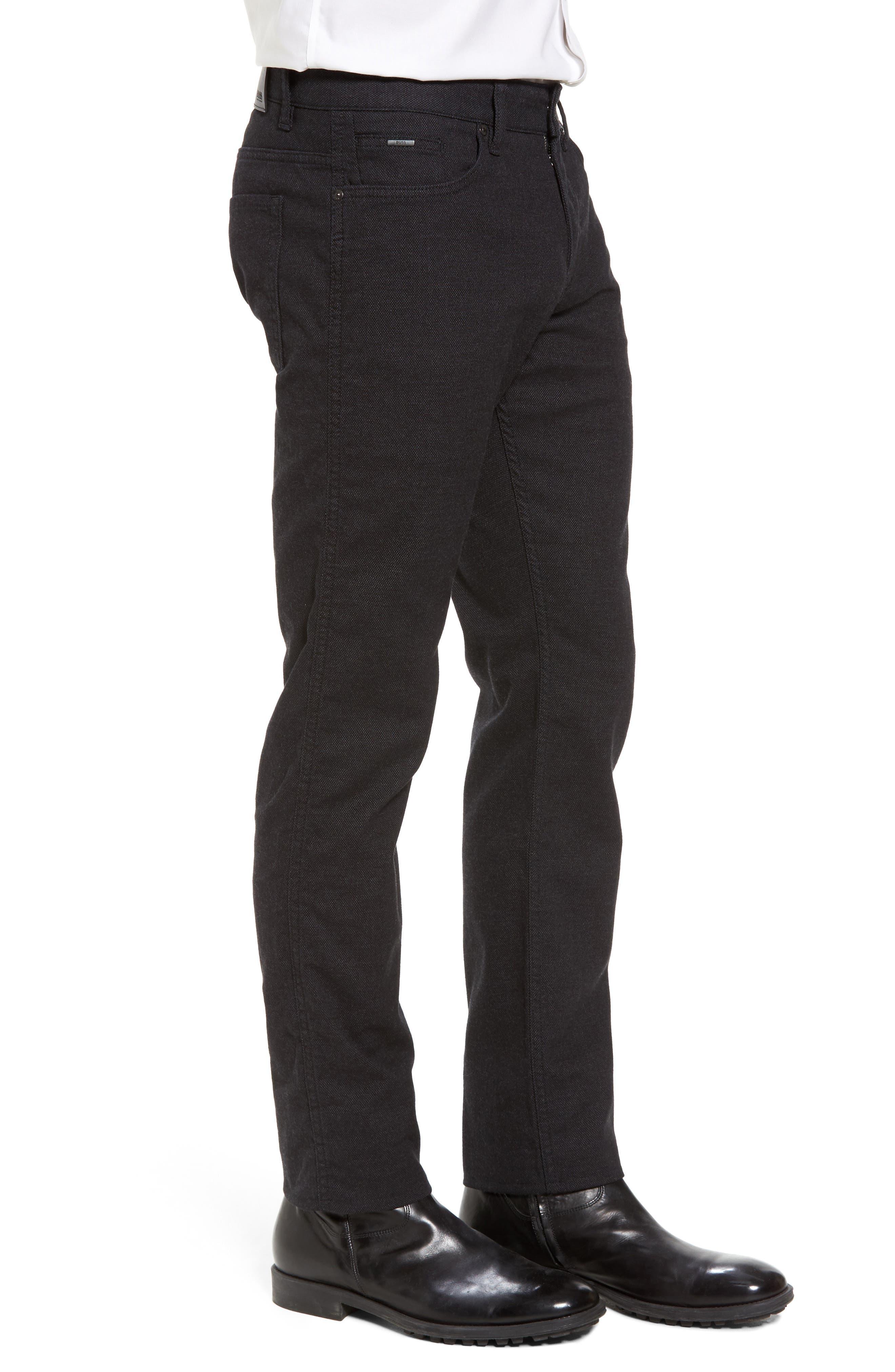 Alternate Image 3  - BOSS Delaware Slim 5-Pocket Pants