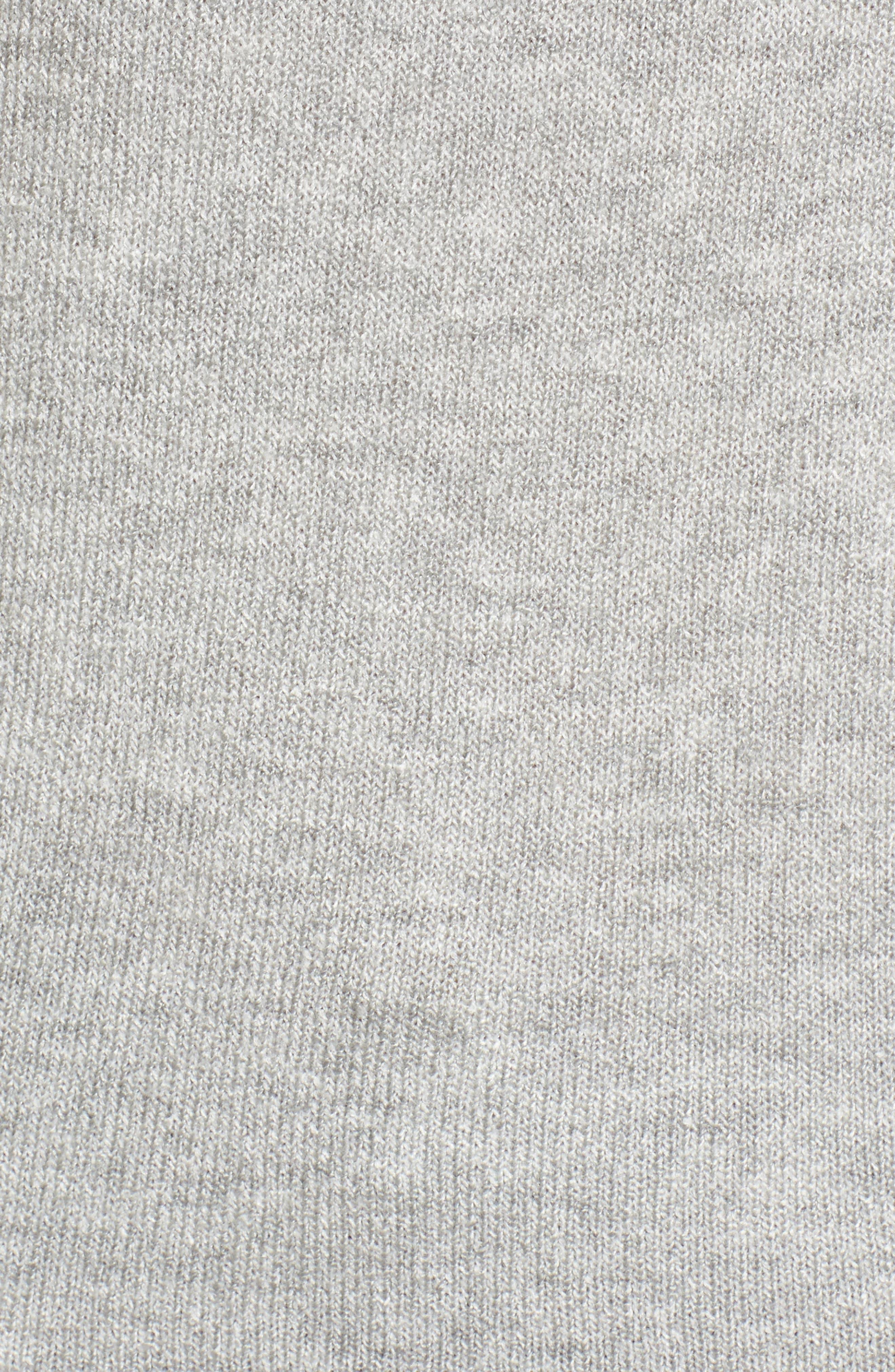 Alternate Image 6  - Caslon® Tie Back Patterned Sweater (Regular & Petite)