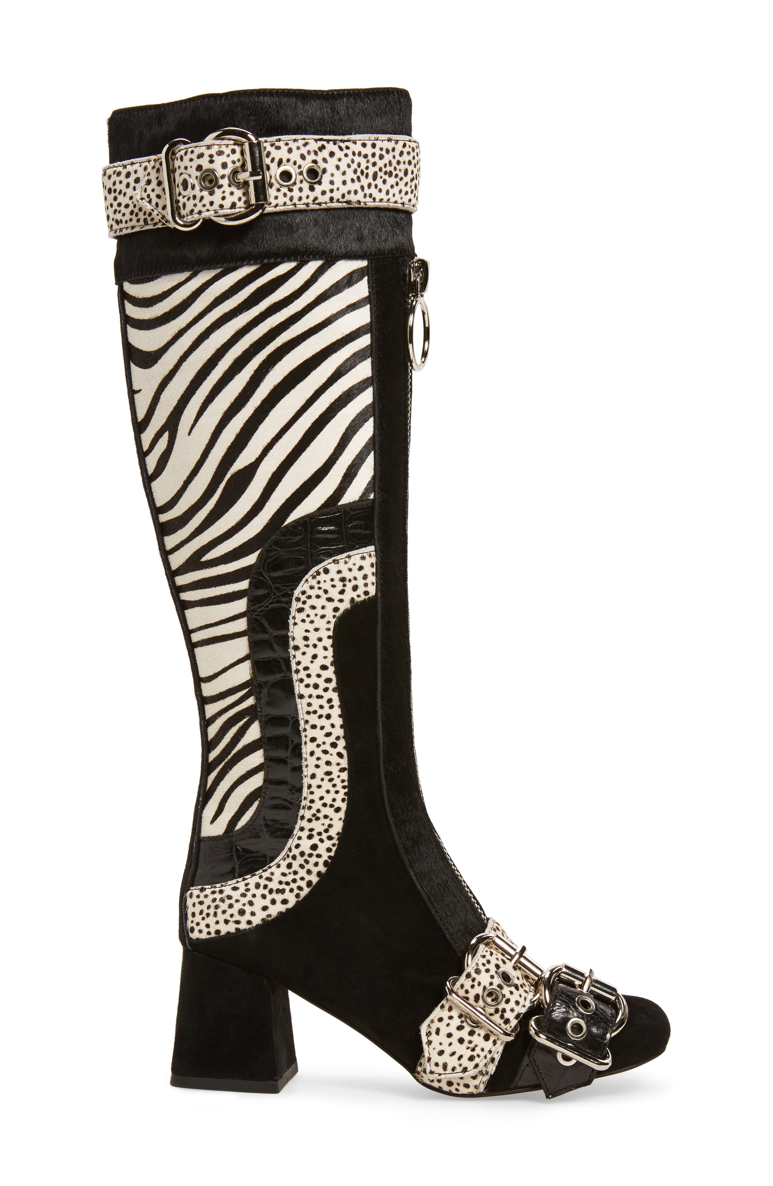 Alternate Image 3  - Jeffrey Campbell Peggy Genuine Calf Hair Boot (Women)
