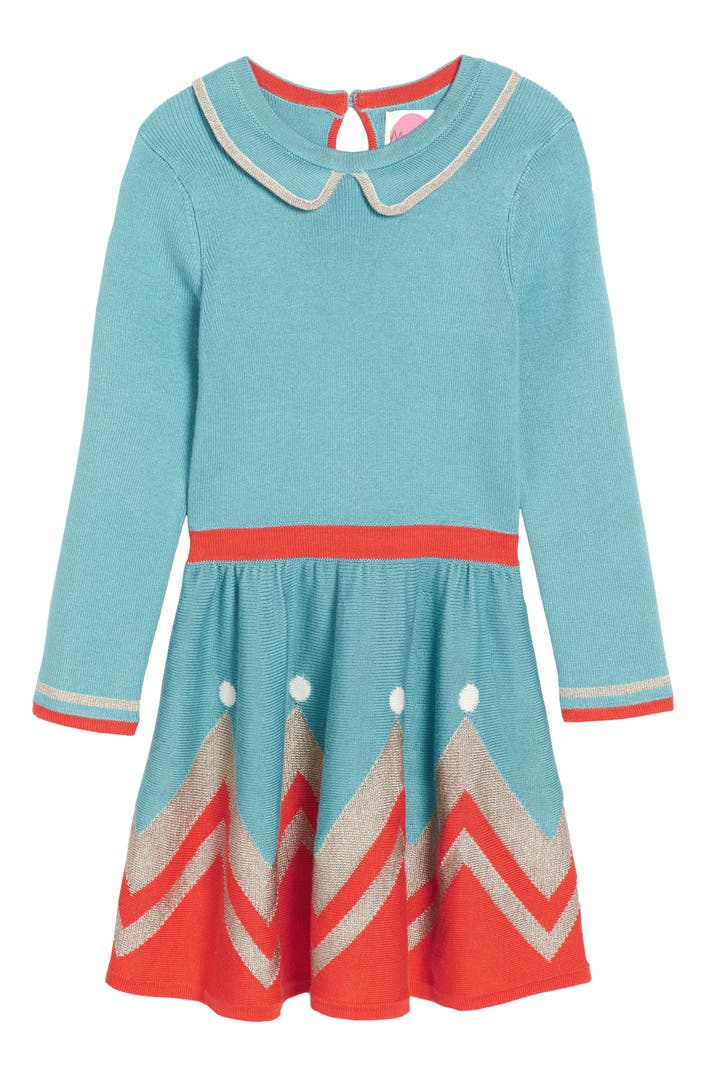 Mini boden sparkly intarsia knit dress toddler girls for Shop mini boden
