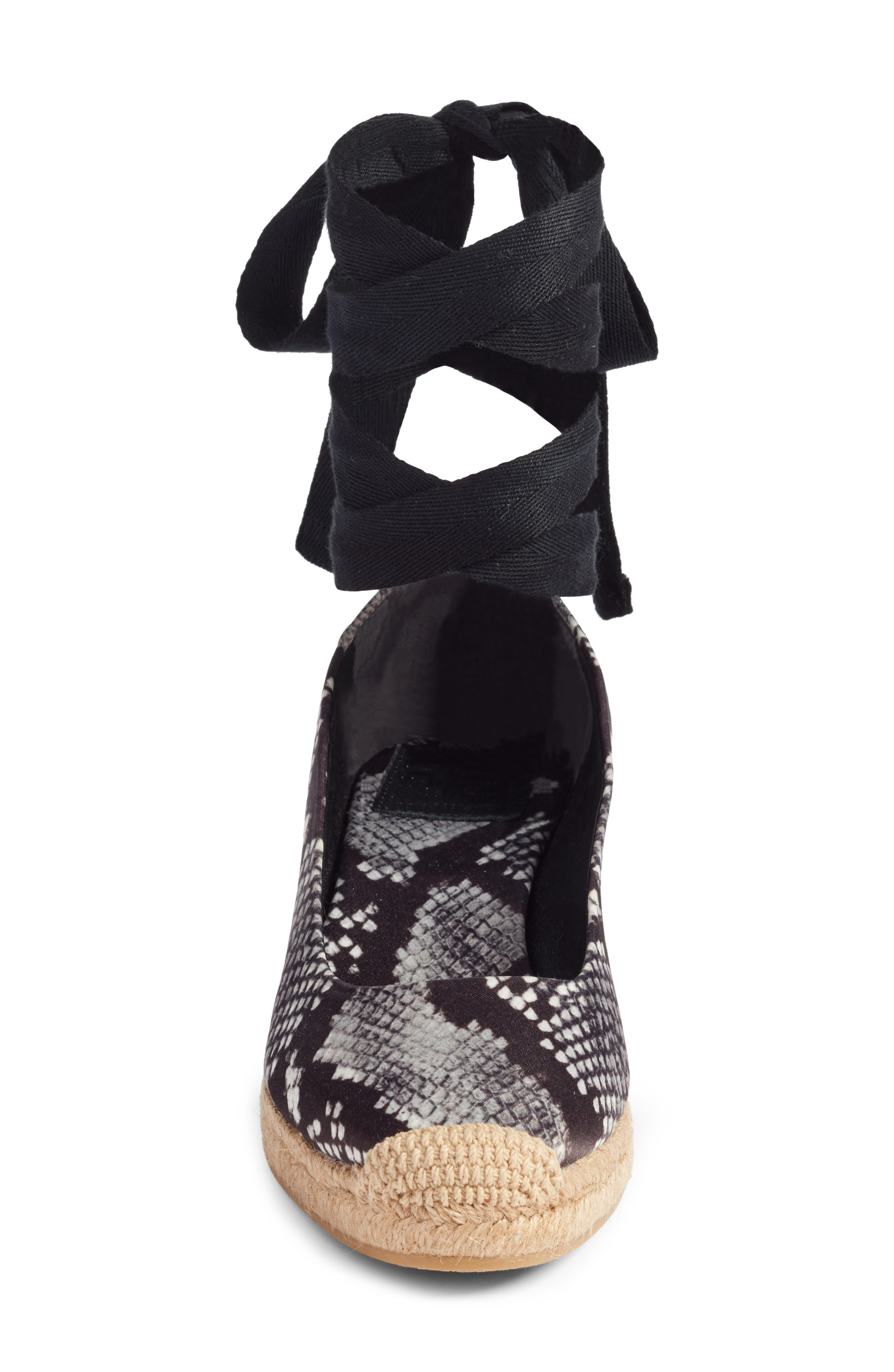 Alternate Image 4  - Tory Burch Heather Ankle Wrap Espadrille Wedge (Women)
