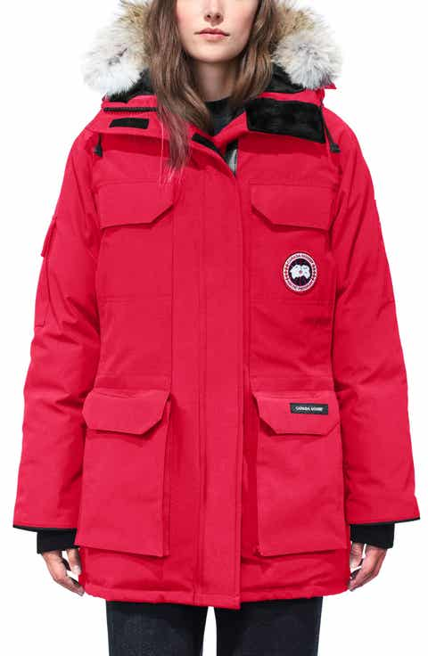 Canada Goose Jacket Red