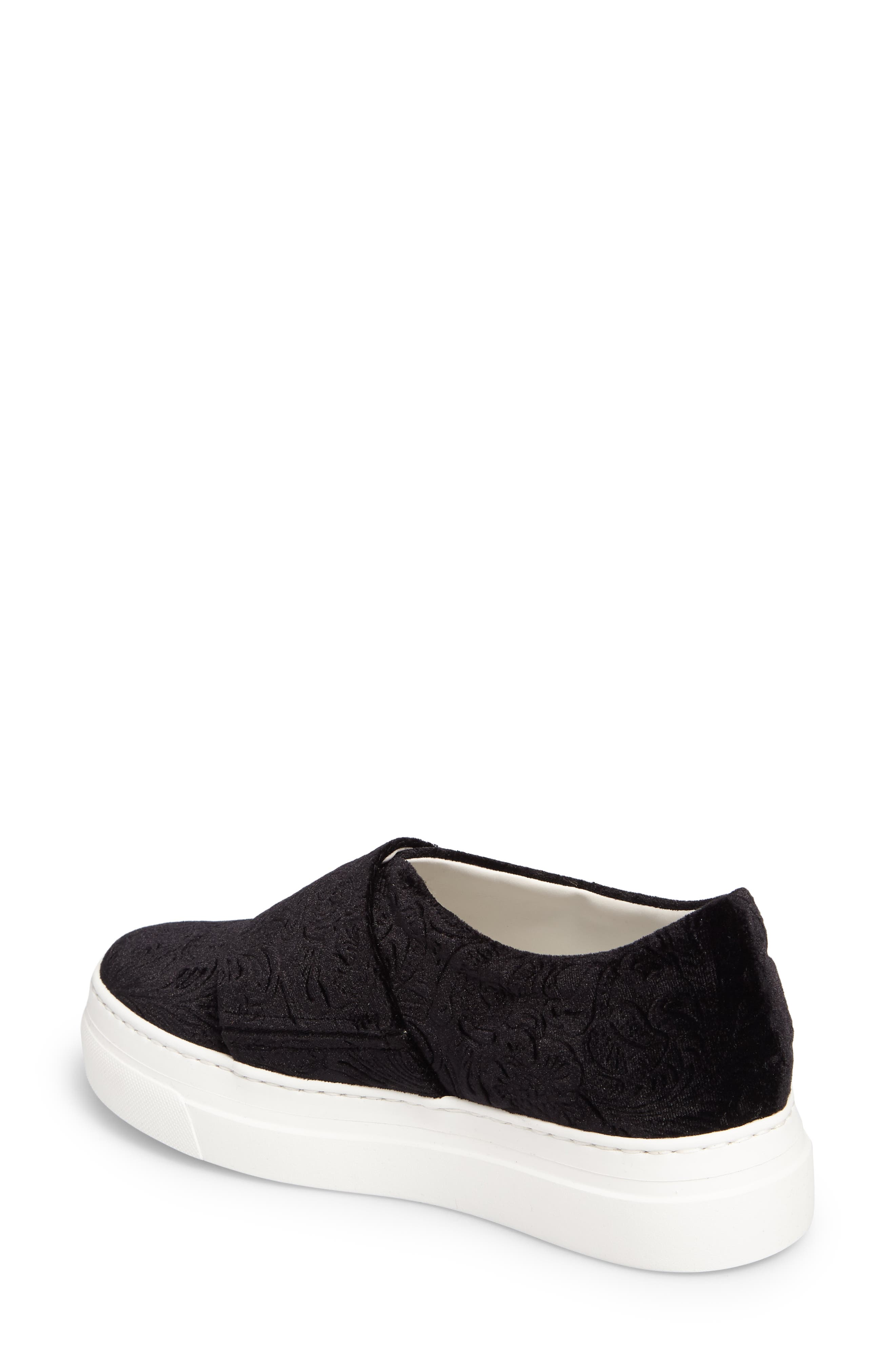 Alternate Image 2  - Lewit Arlo Slip-On Platform Sneaker (Women)