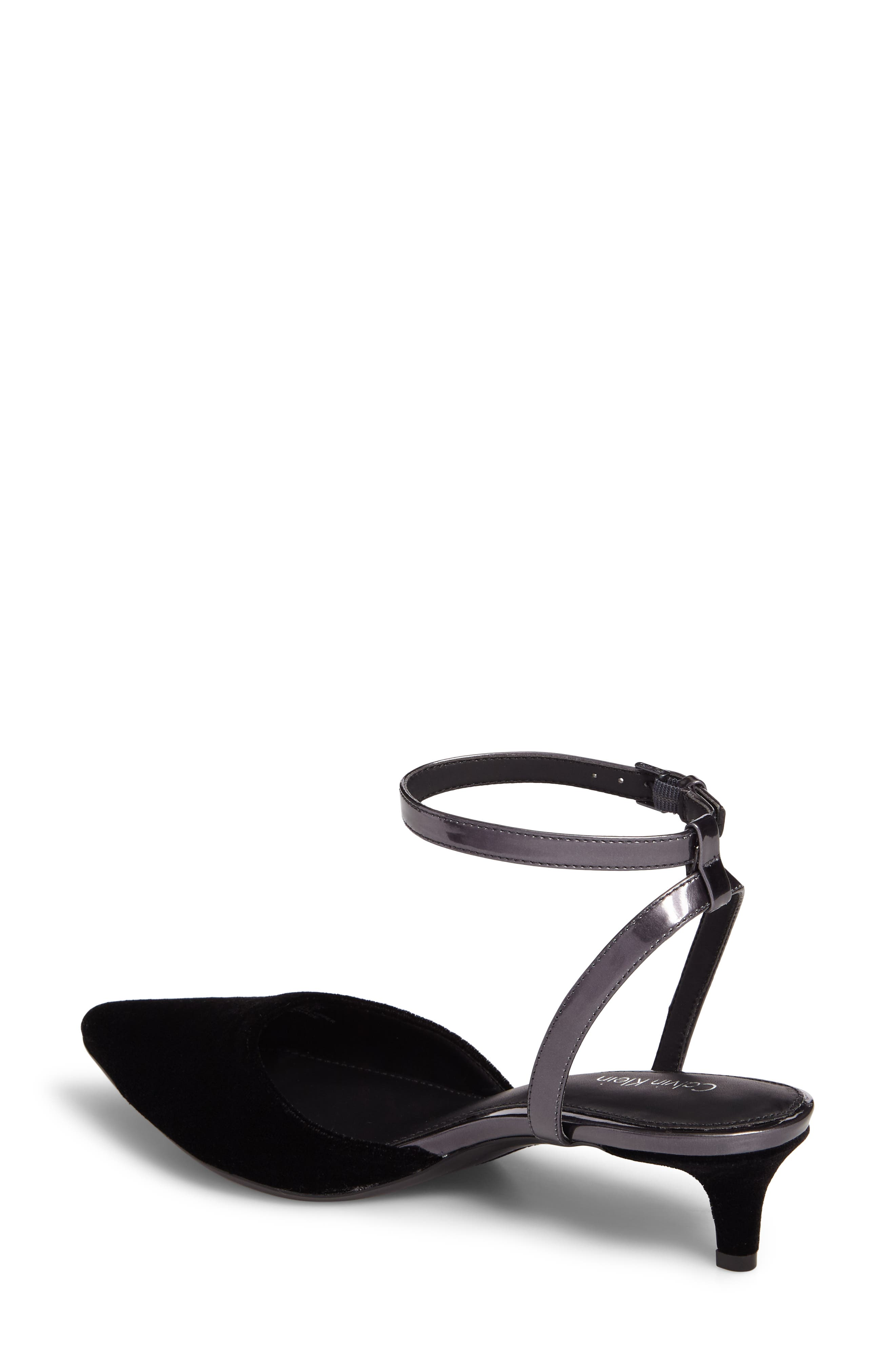 Alternate Image 2  - Calvin Klein GoGo Ankle Strap Pump (Women)