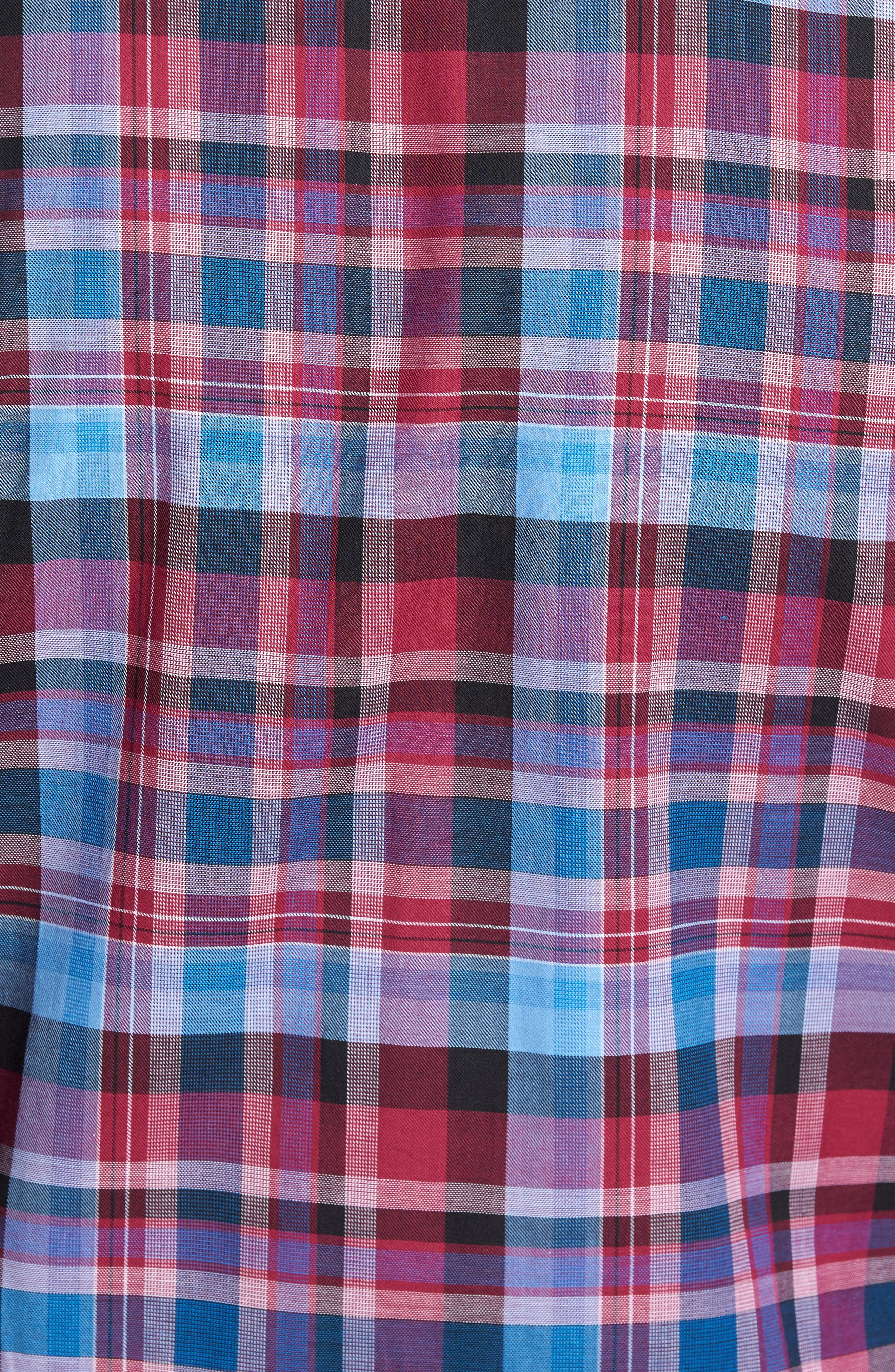 Alternate Image 5  - TailorByrd Colfax Plaid Sport Shirt