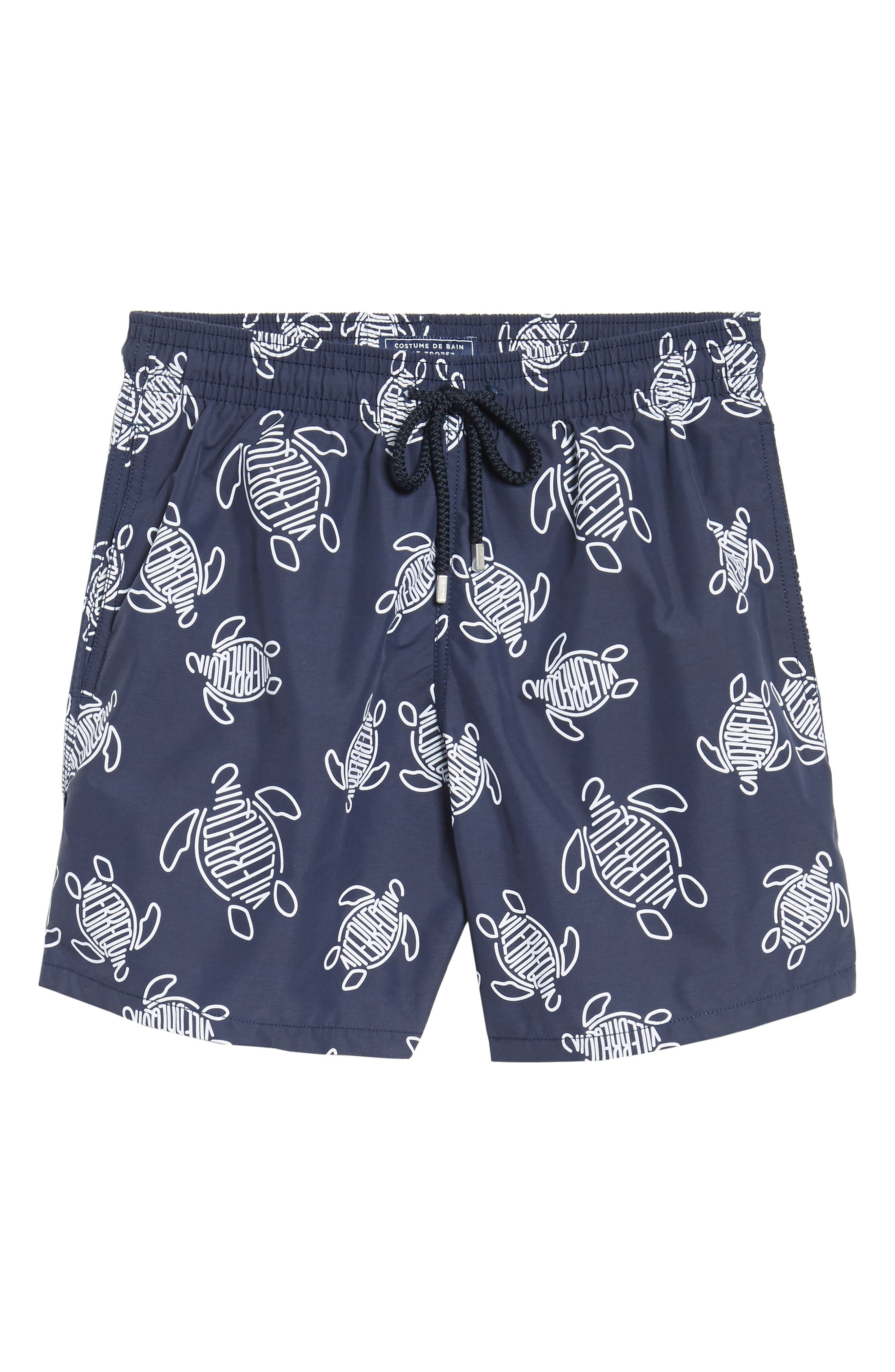 Alternate Image 6  - Vilebrequin Turtles Swim Trunks