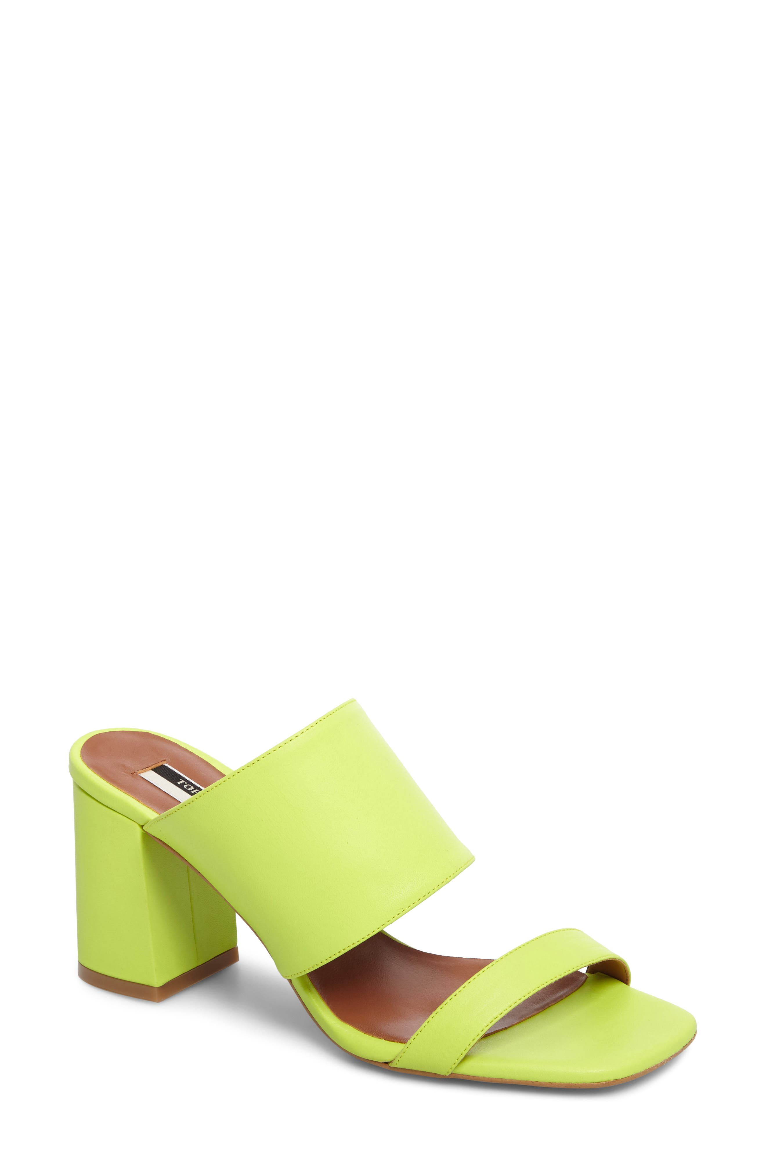 Topshop Nickle Mule Sandal (Women)