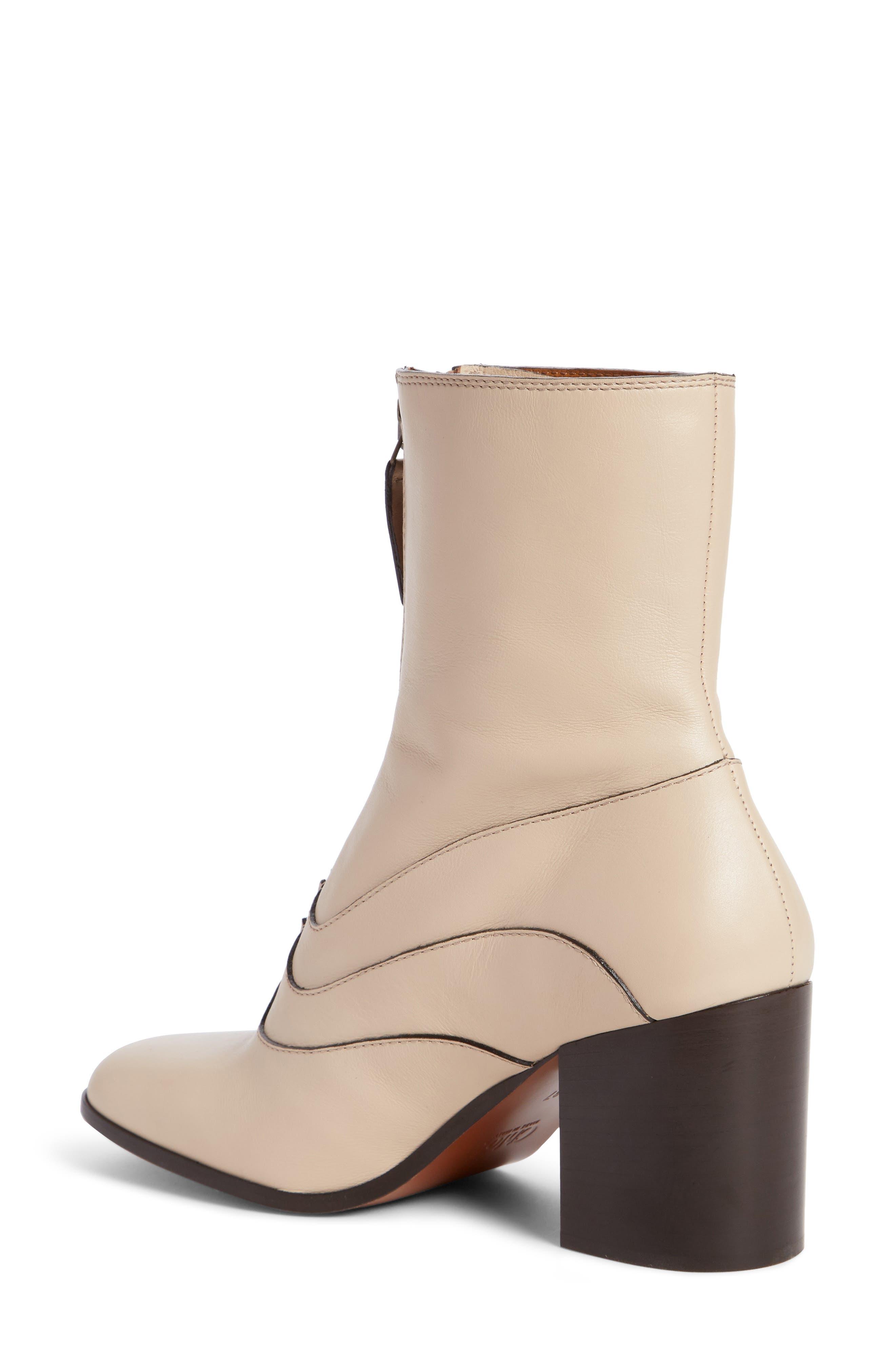 Alternate Image 2  - Chloé Qacey Square Toe Boot (Women)