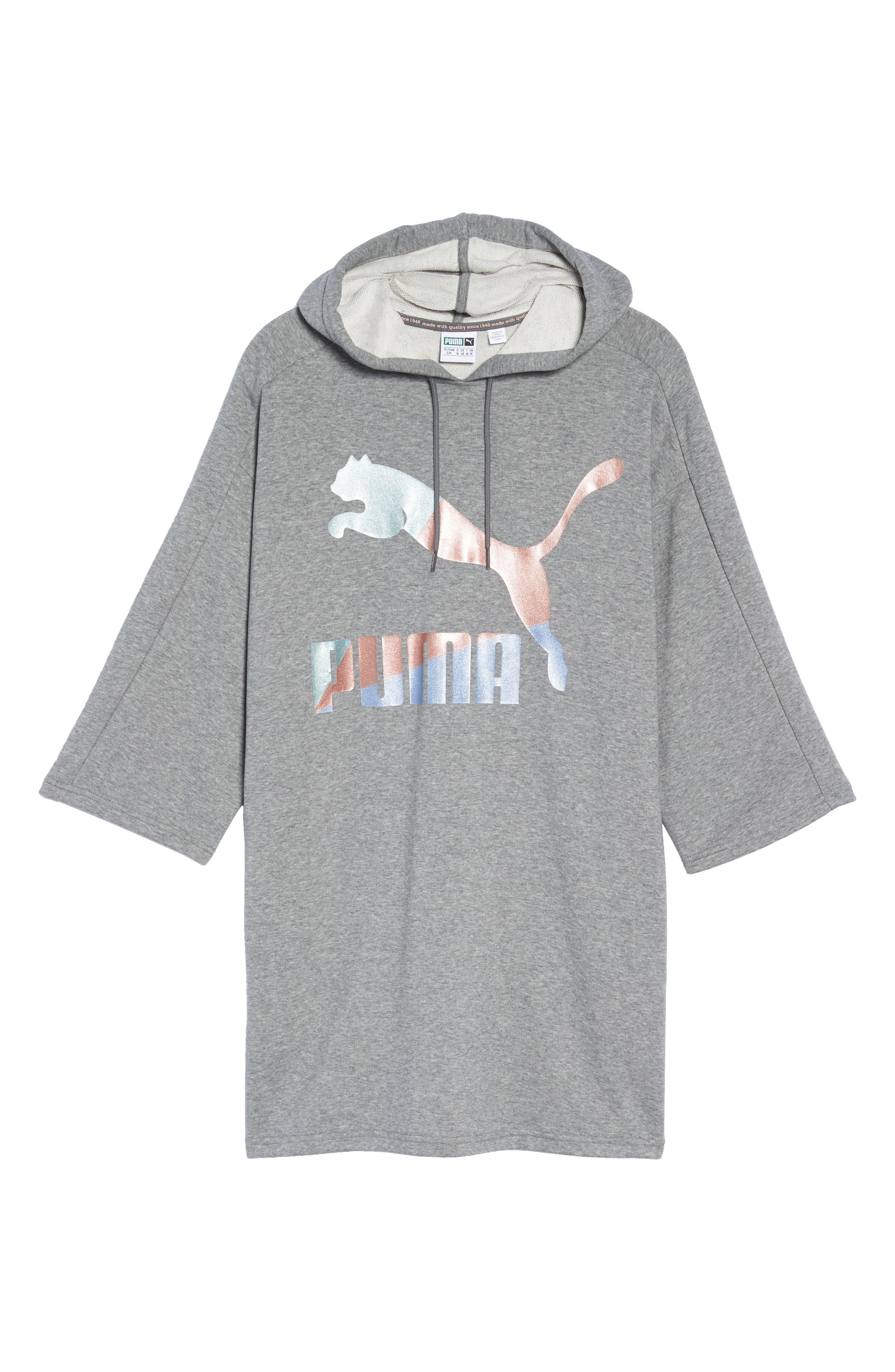 Alternate Image 6  - PUMA Glam Oversize Hooded Dress