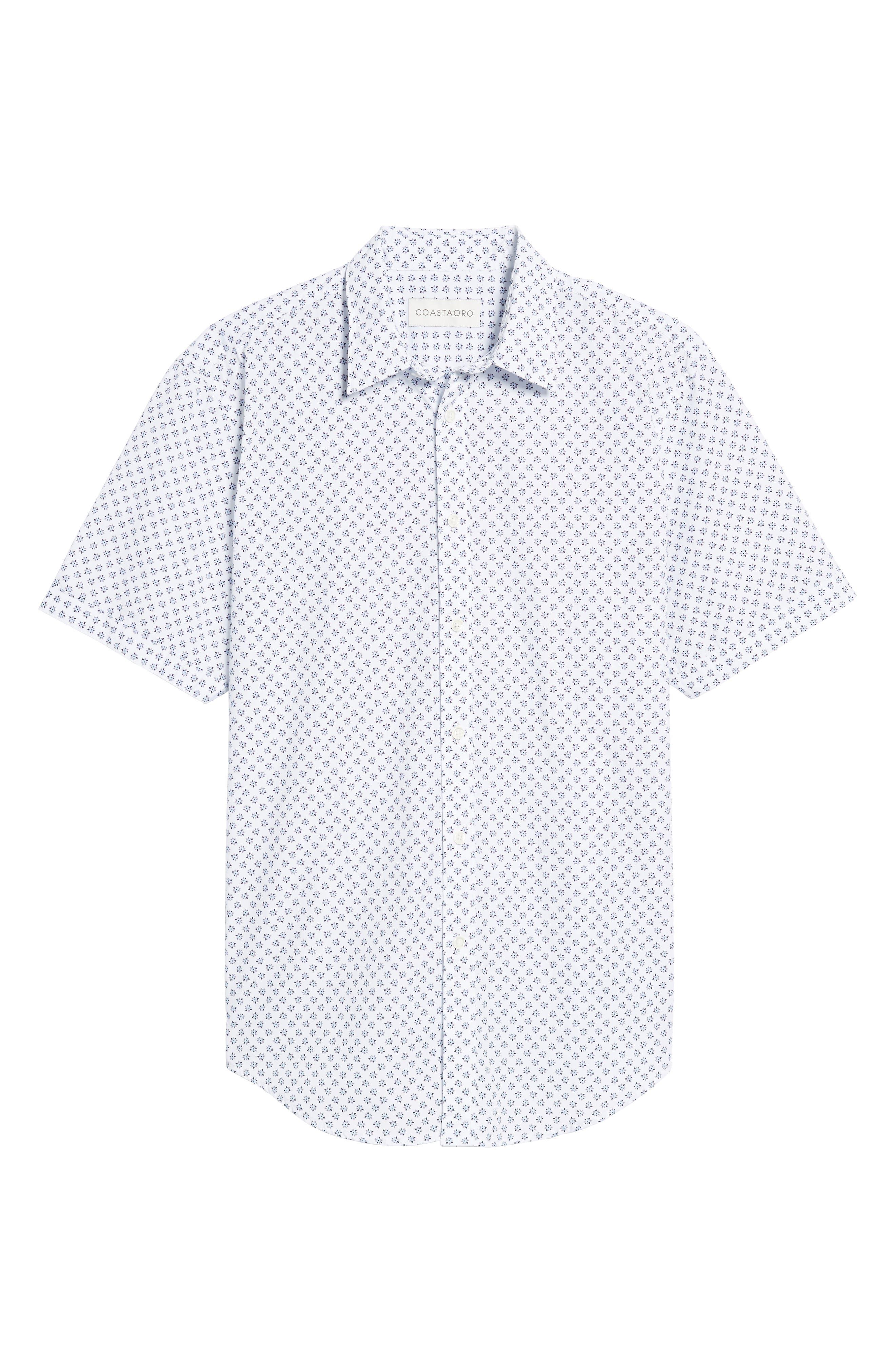 Alternate Image 6  - Coastaoro Santo Regular Fit Print Sport Shirt