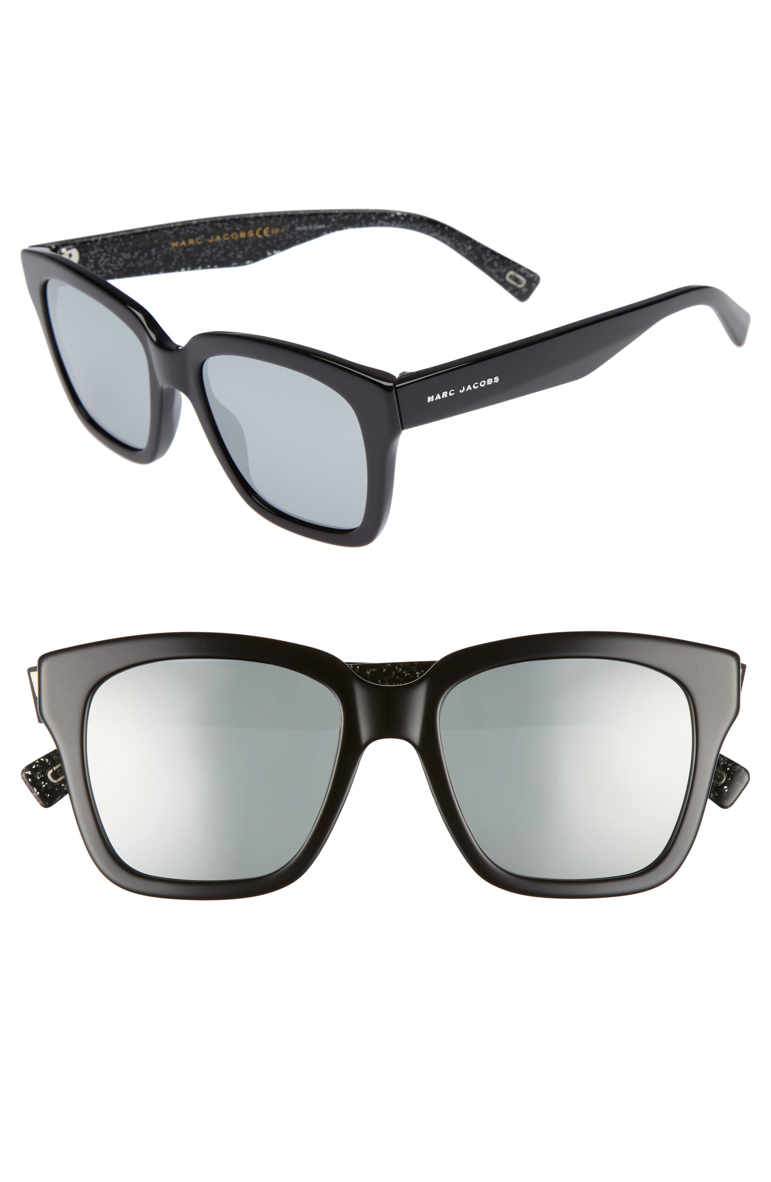 Main Image - MARC JACOBS 52mm Square Sunglasses