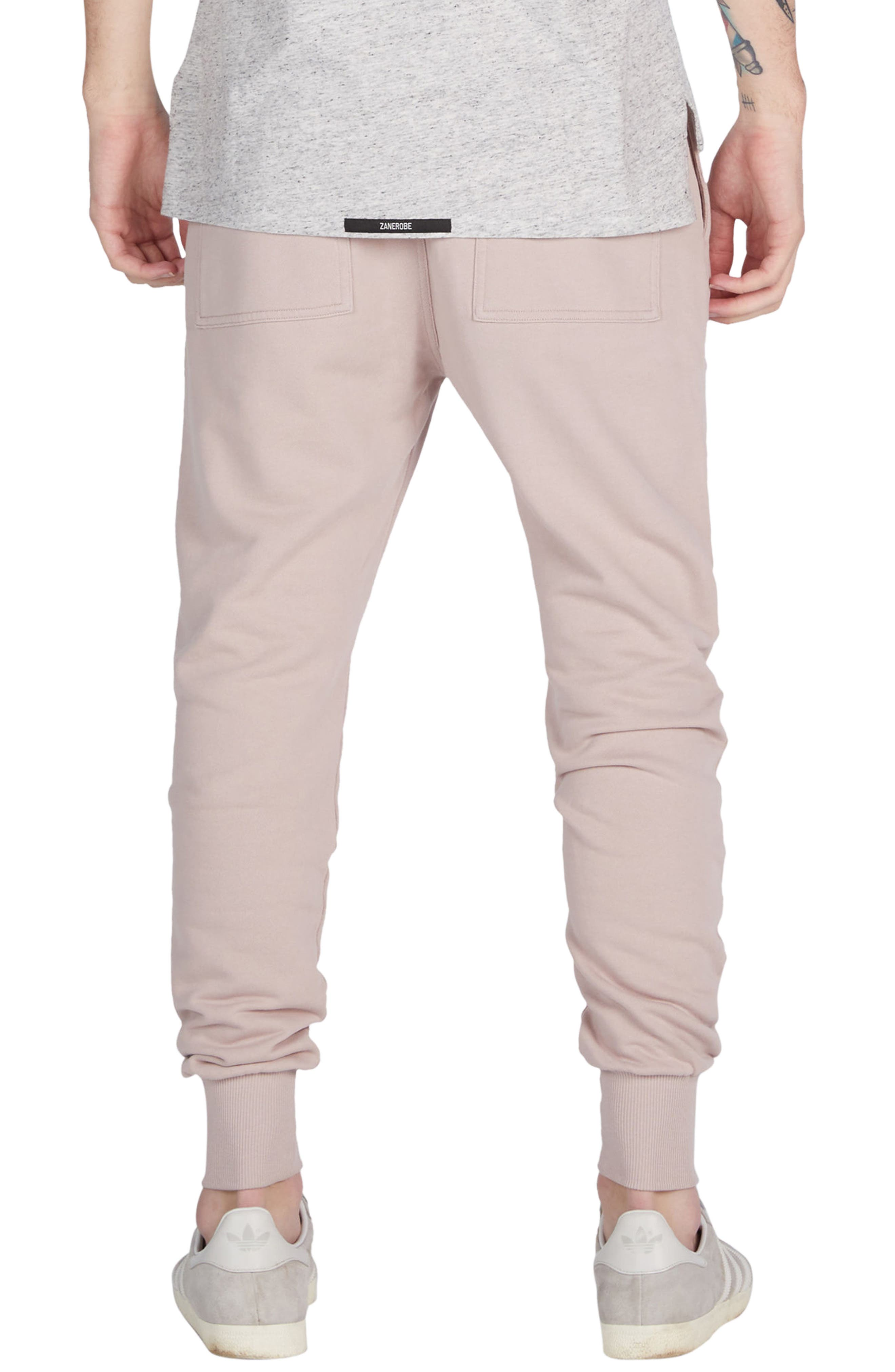 Alternate Image 2  - ZANEROBE Blockshot Fleece Jogger Pants