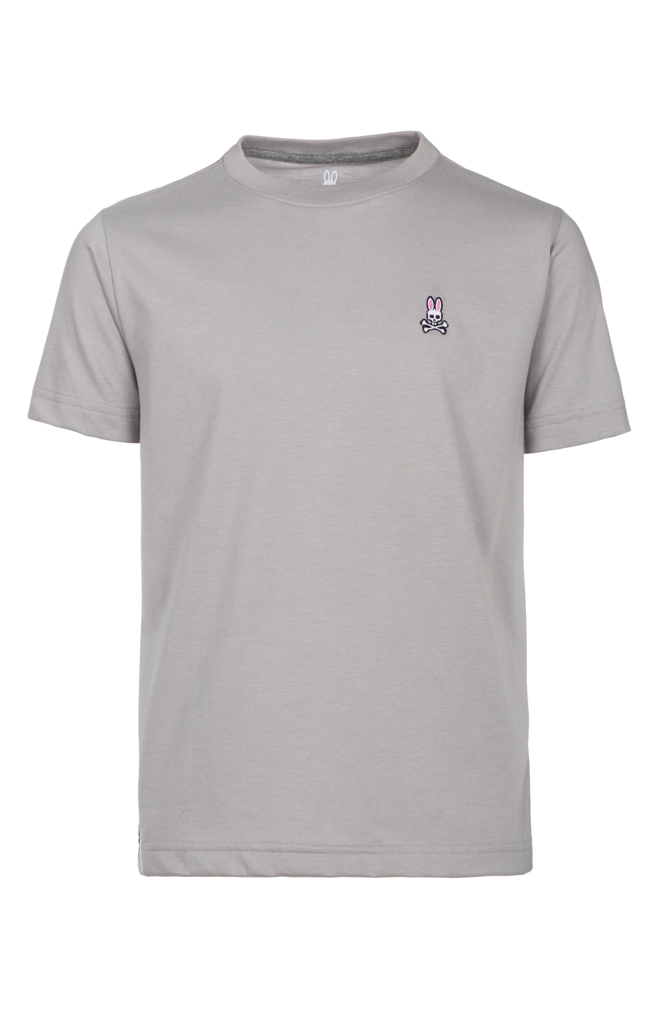 Crewneck T-Shirt,                         Main,                         color, Alloy