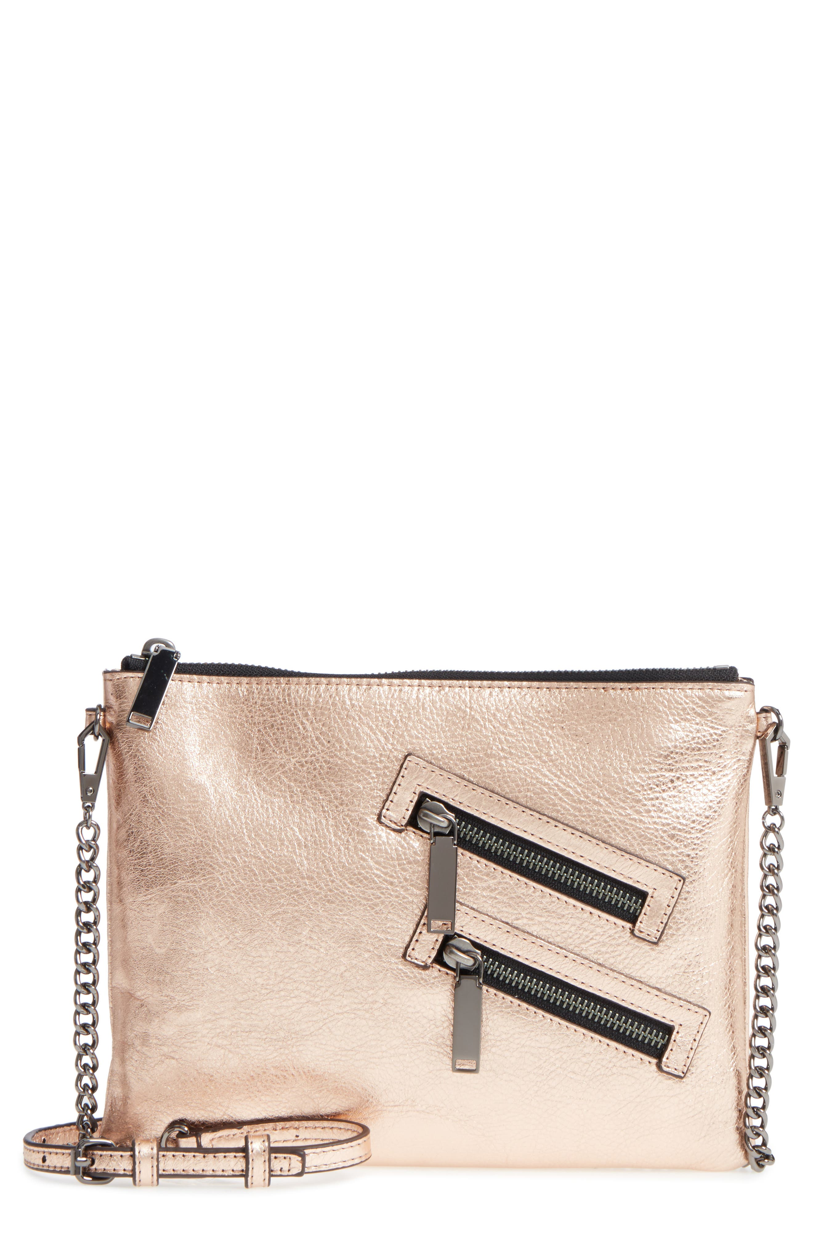 Rebecca Minkoff Jon Leather Crossbody Bag