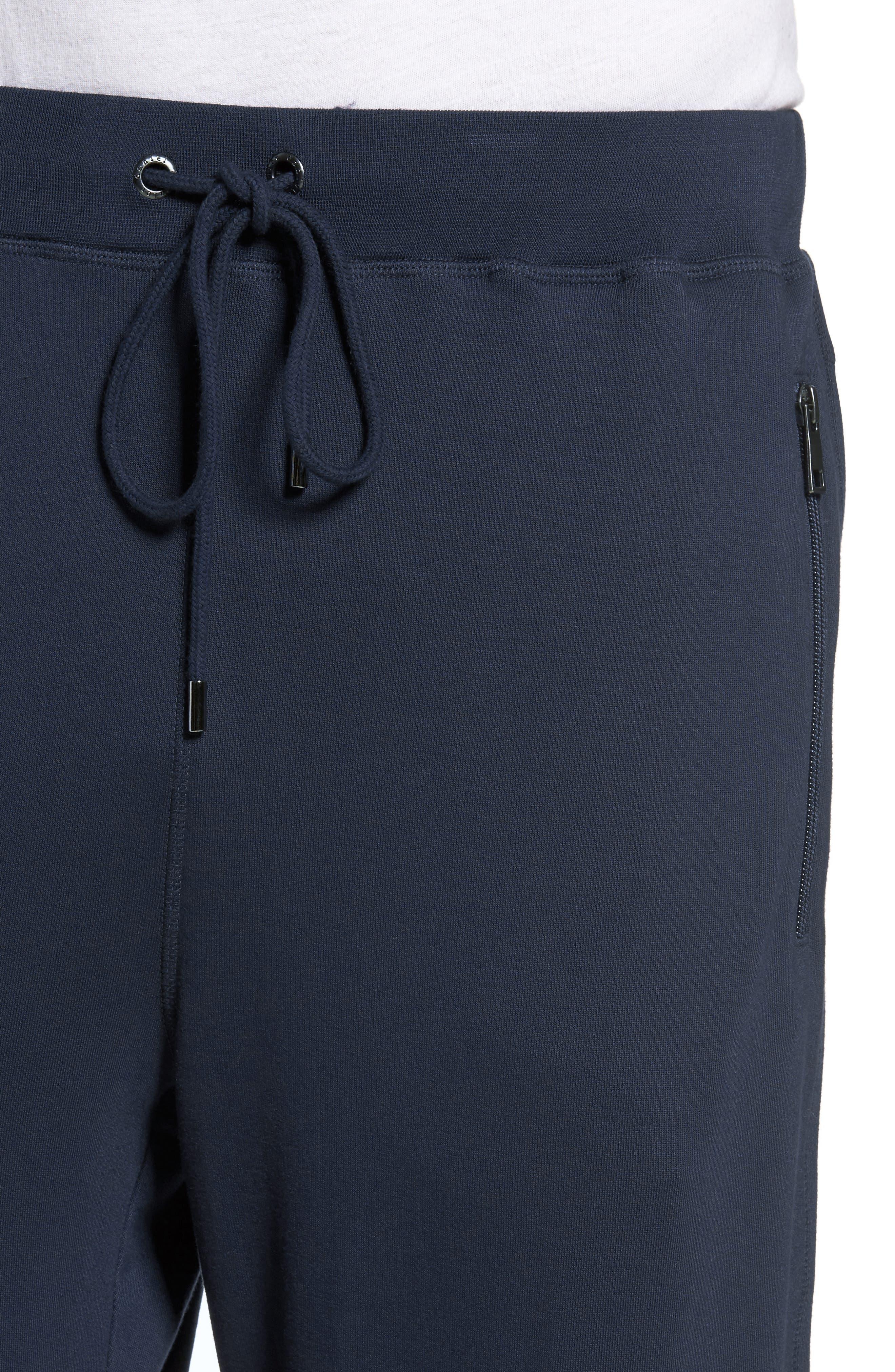 Modal Blend Lounge Pants,                             Alternate thumbnail 4, color,                             Ink