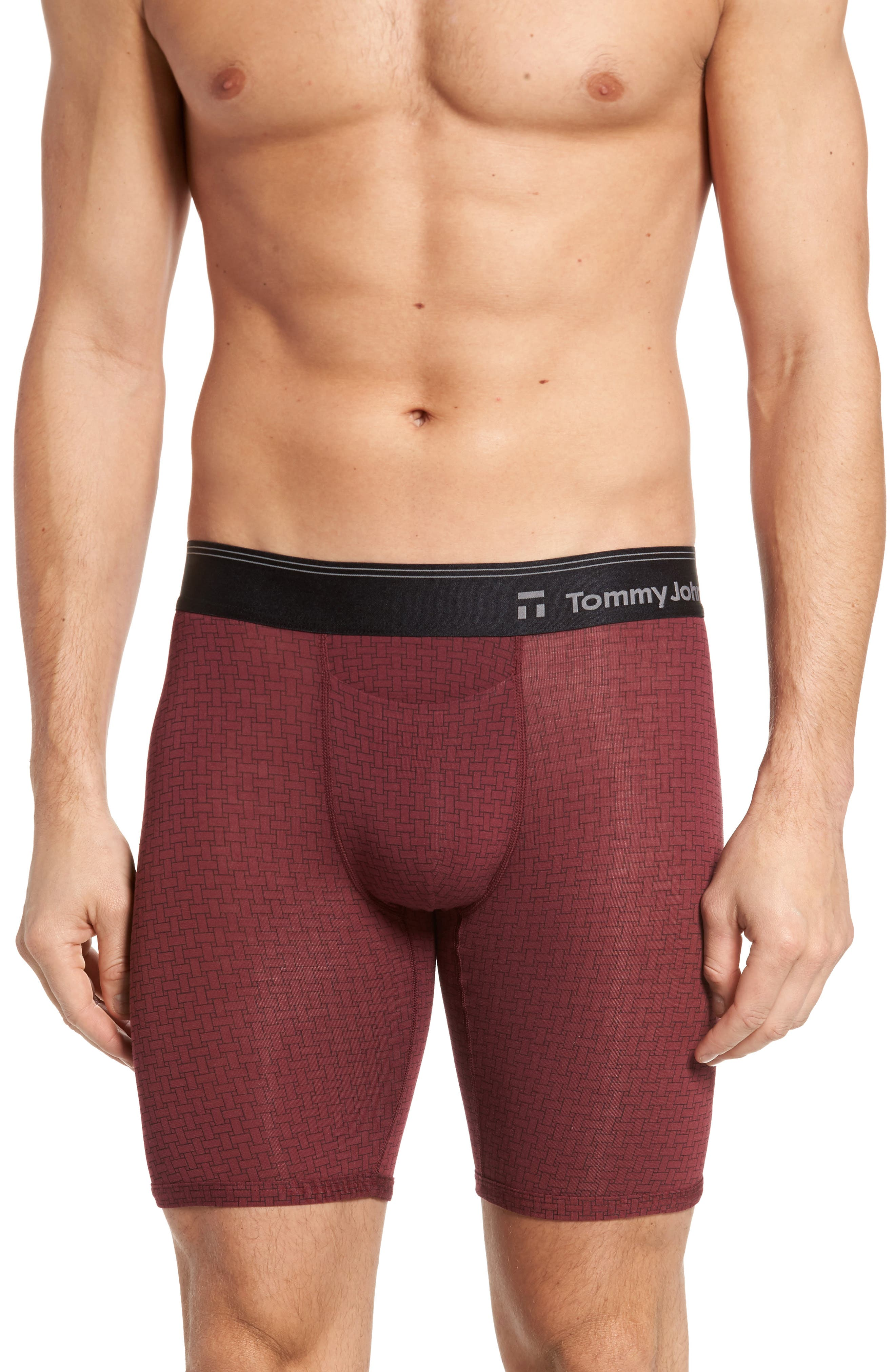 Tommy John Second Skin Hawthorne Print Boxer Briefs