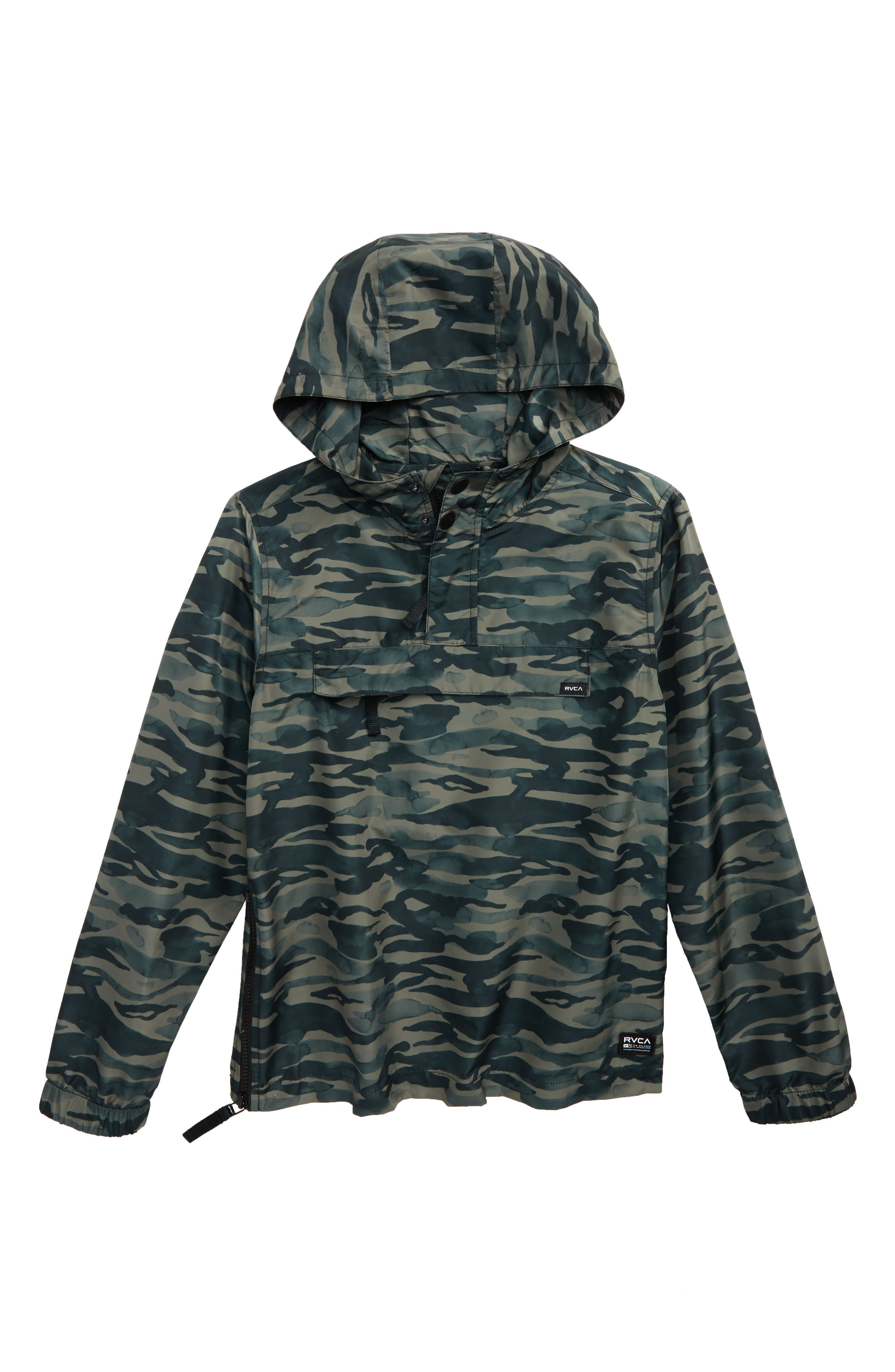 RVCA Packaway Hooded Anorak (Big Boys)