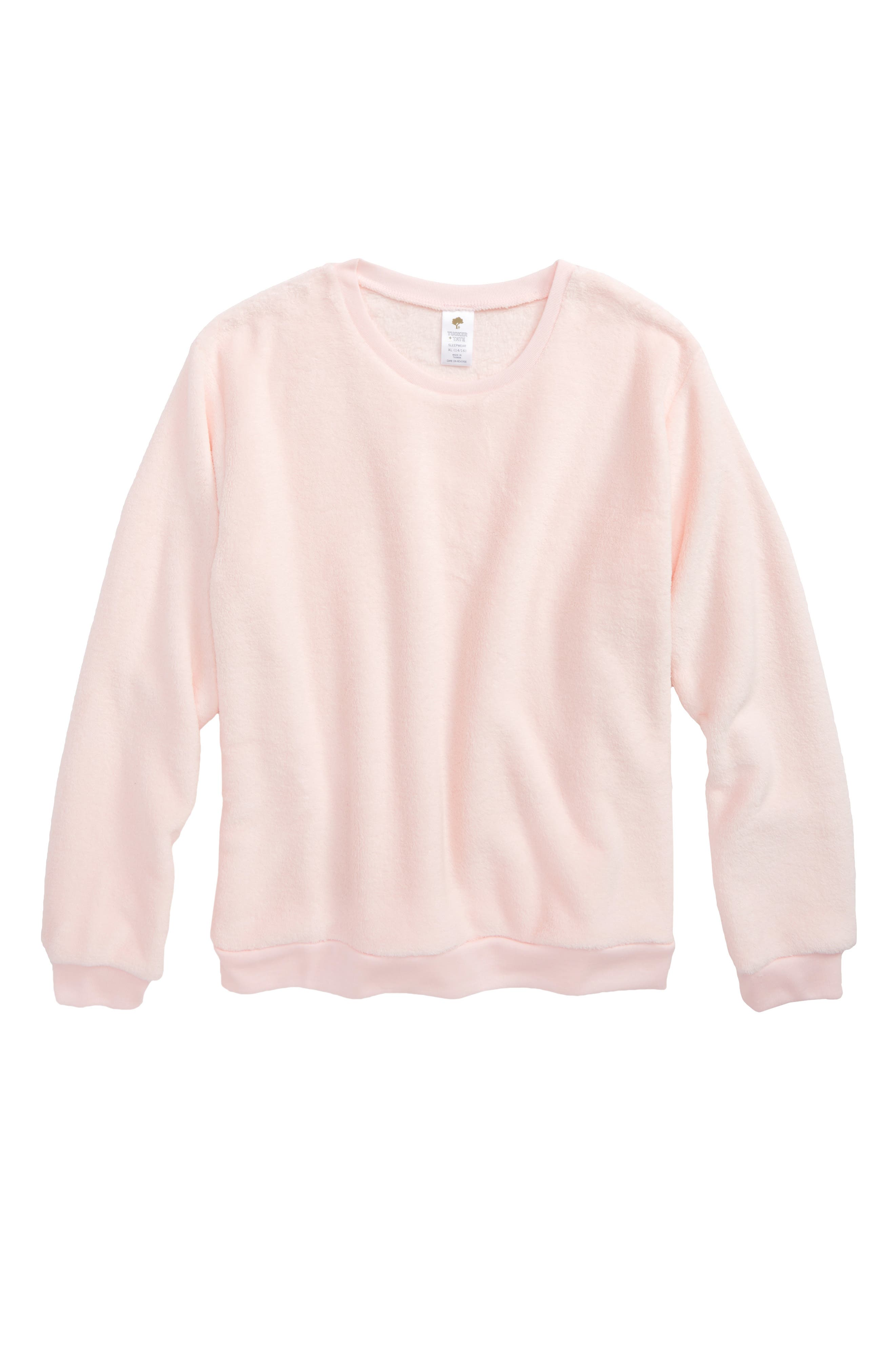 Tucker + Tate Fleece Sleep Tee (Big Girls)