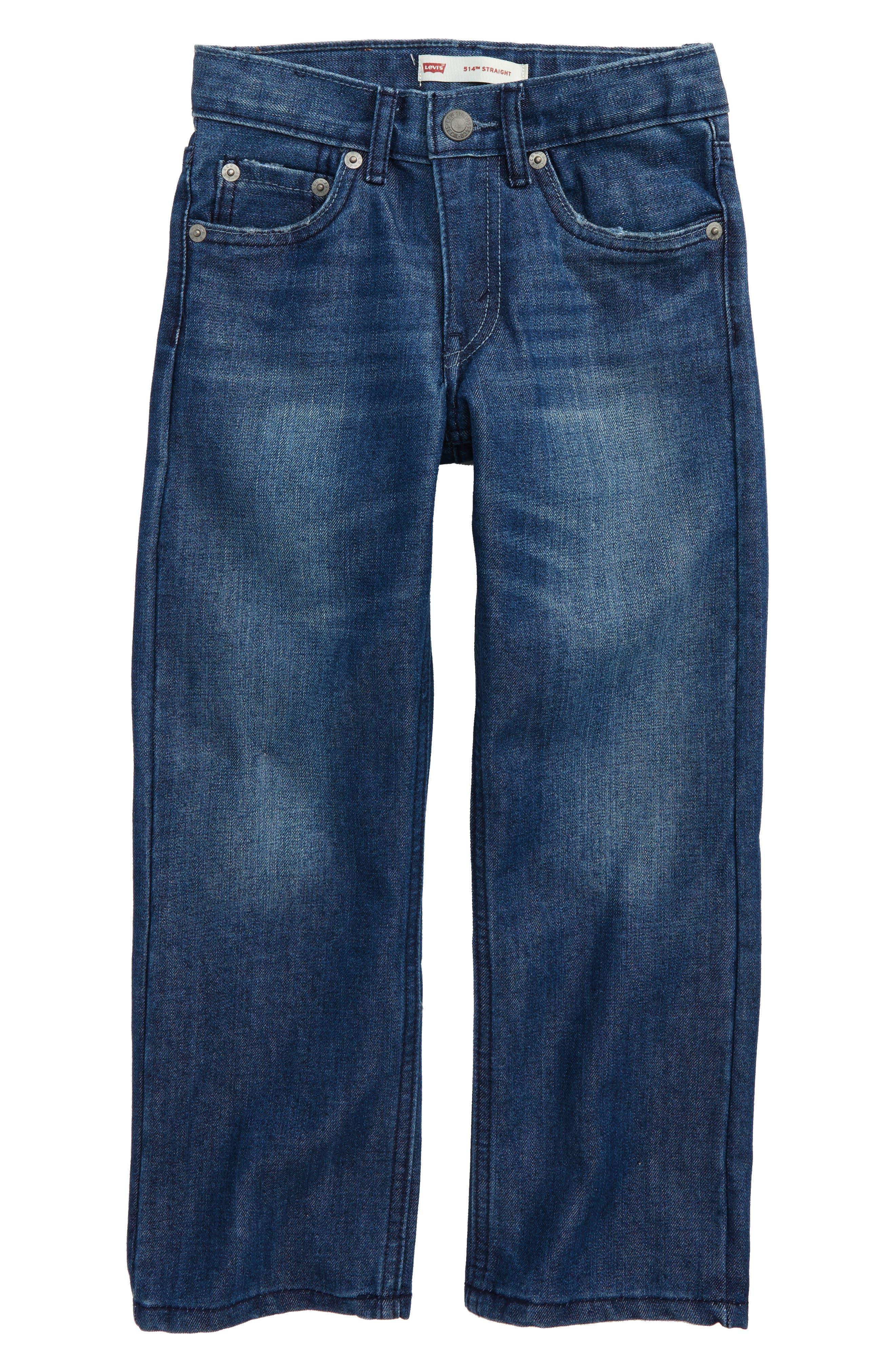 Alternate Image 1 Selected - Levi's® 514™ Straight Leg Jeans (Toddler Boys & Little Boys)