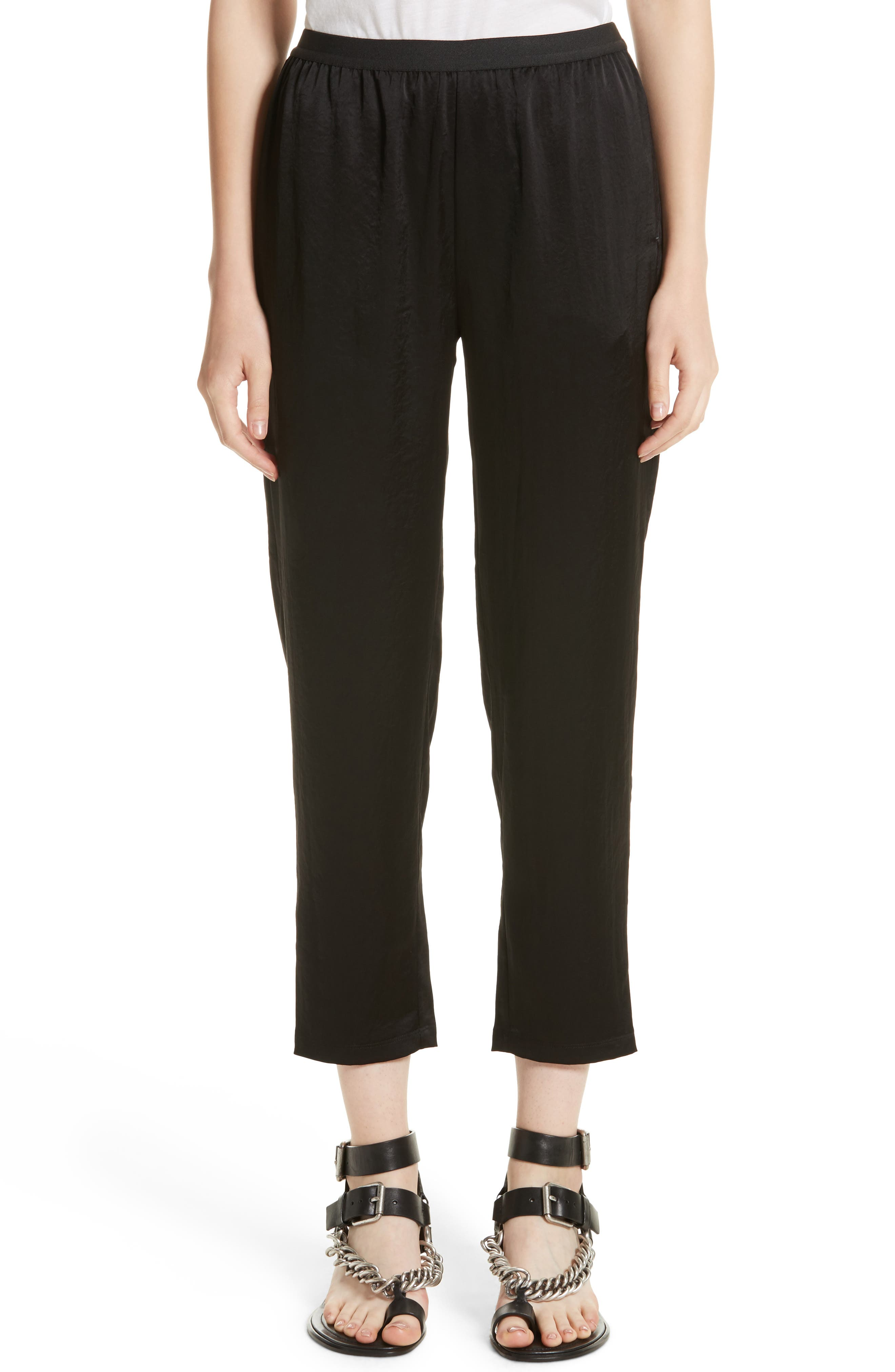 Alternate Image 1 Selected - T by Alexander Wang Wash N Go Woven Pants