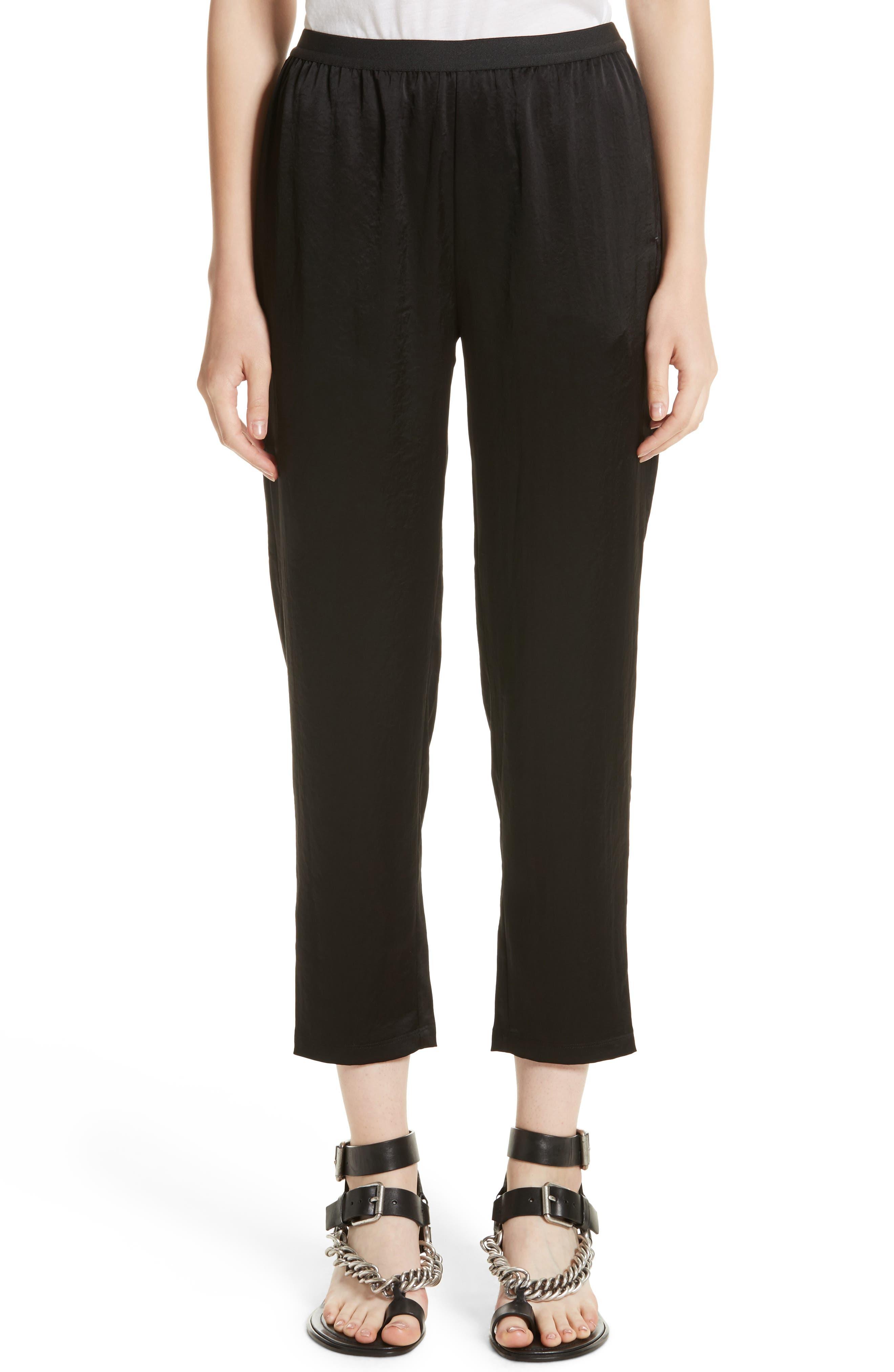 Wash N Go Woven Pants,                         Main,                         color, Black