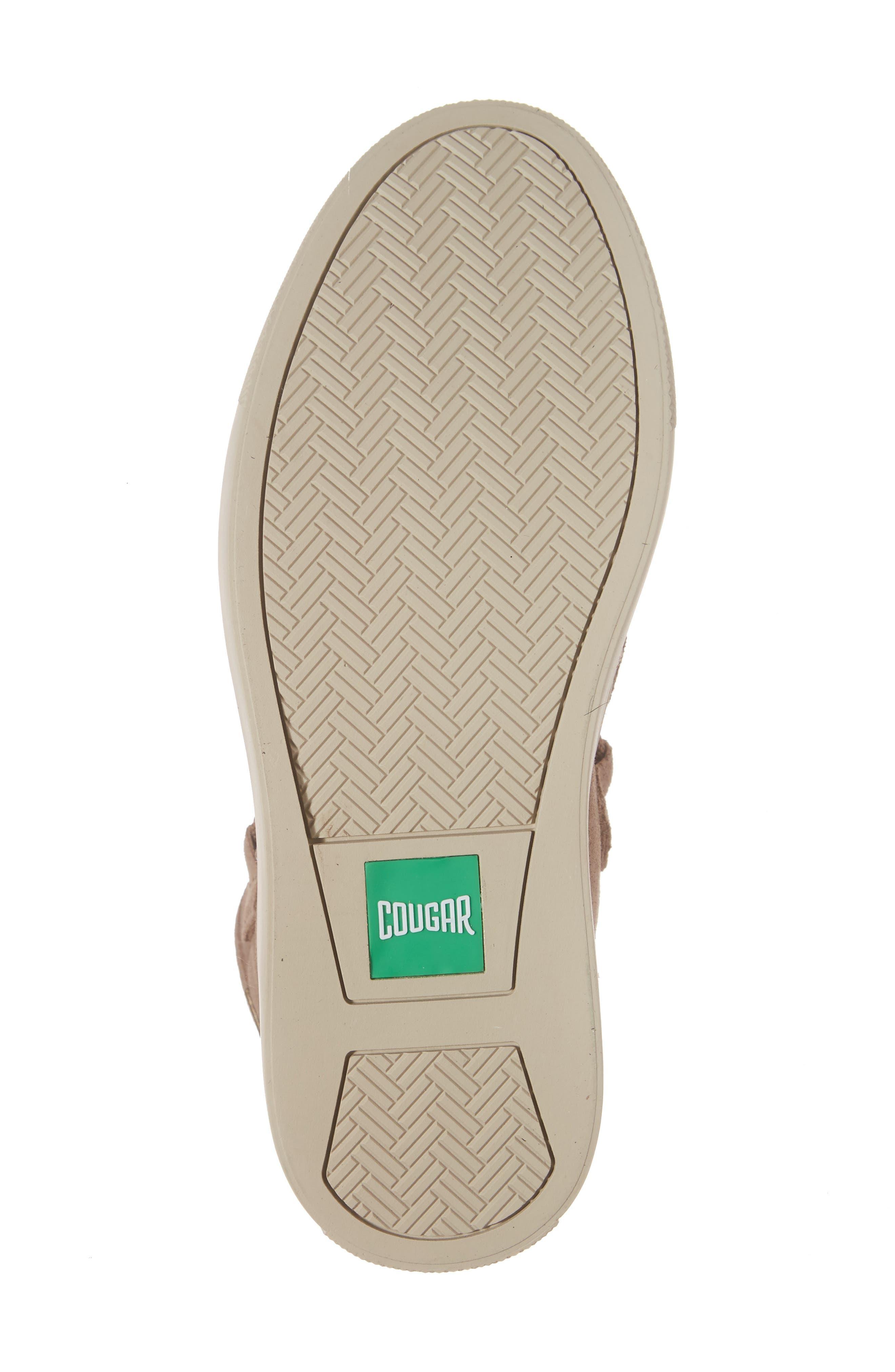 Fabiola Waterproof High Top Sneaker,                             Alternate thumbnail 6, color,                             Taupe Suede