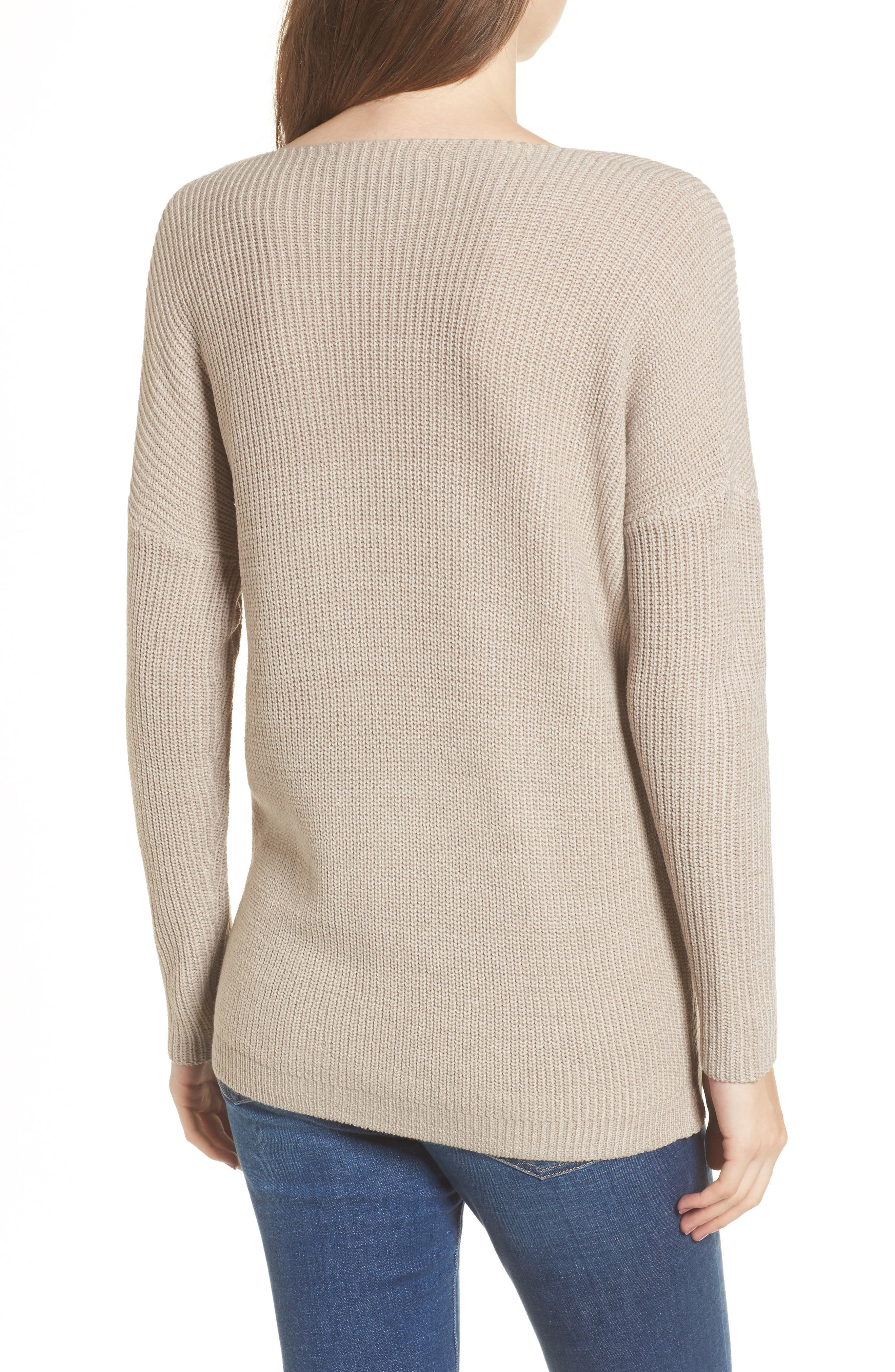 Alternate Image 2  - ASTR the Label Wrap Front Sweater
